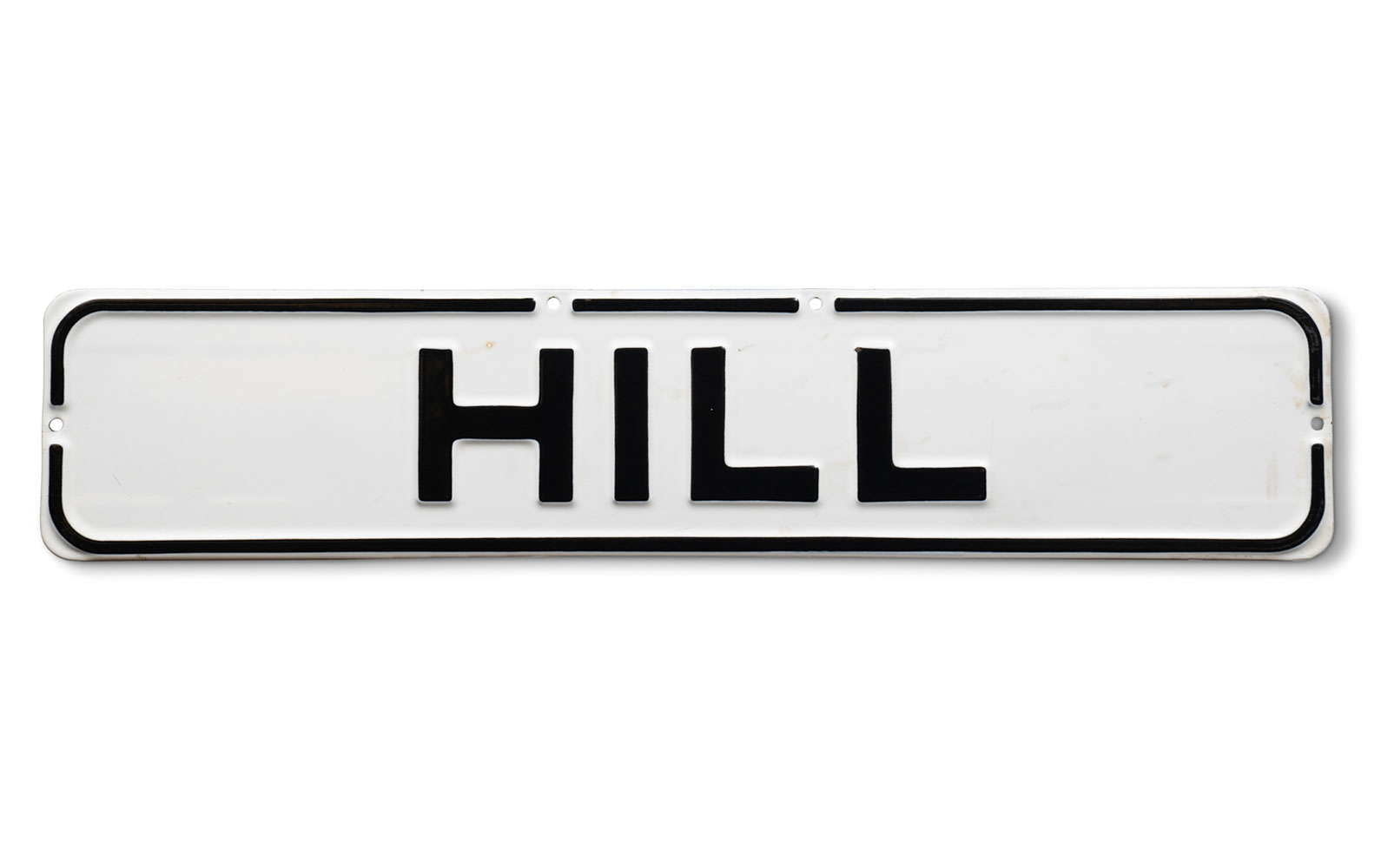 San Francisco Hill Street Sign
