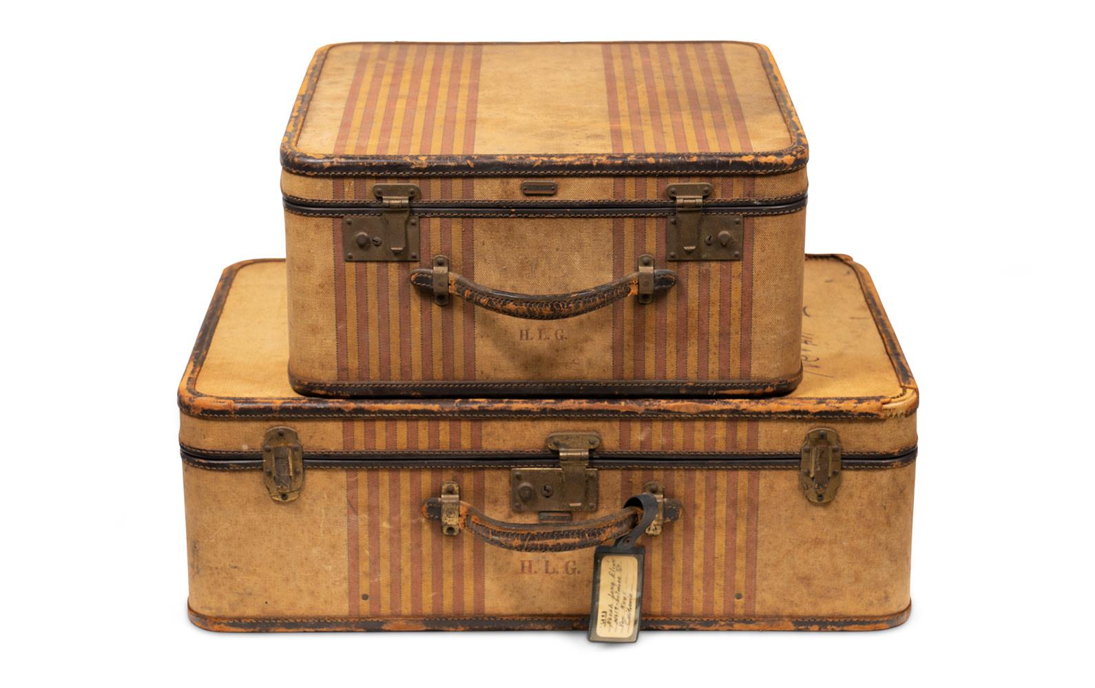 Oshkosh Trunks Two-Piece Personal Luggage Set
