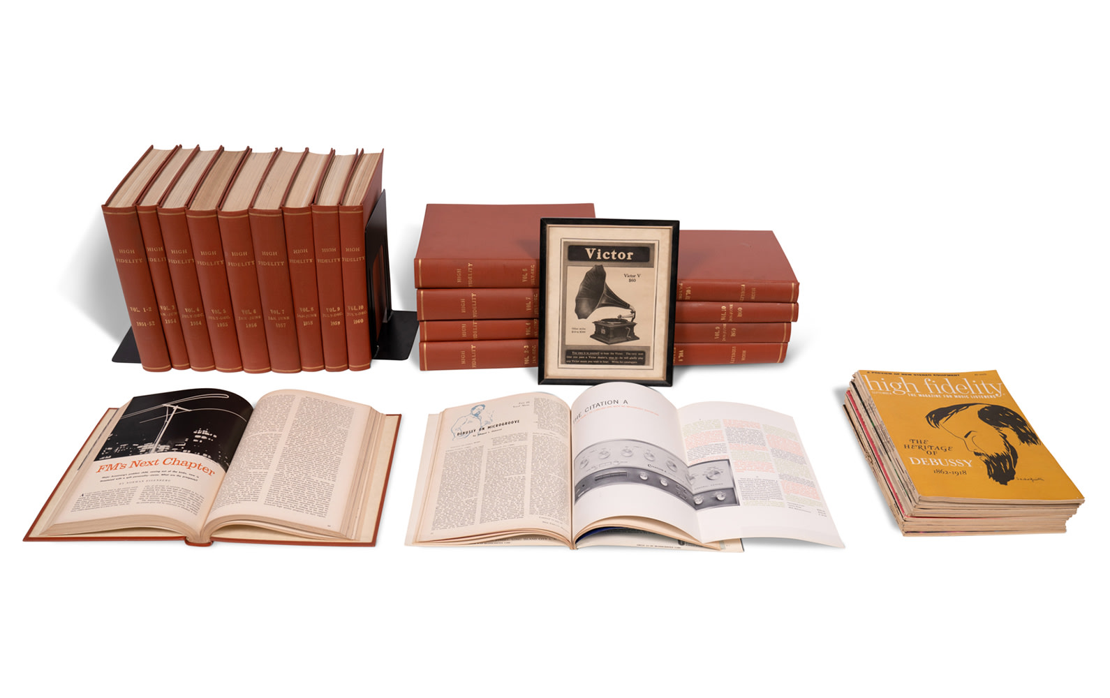 High Fidelity Magazines, c. 1951–1960