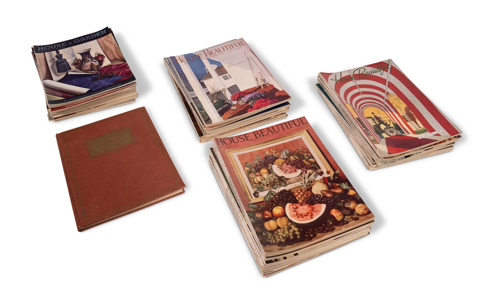 Prod/O21E - Phil Hill C 2021/C0022_House Beautiful Magazines, c. 1930s/C0022_1930s_House_Beautiful_Magazines_2_uvx7gm