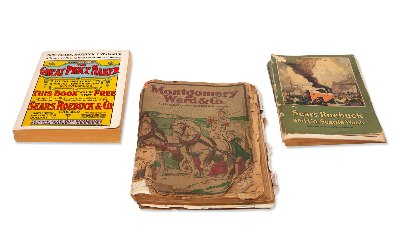 Montgomery Ward & Co. and Sears Roebuck & Company Catalogues, c. 1912–1924