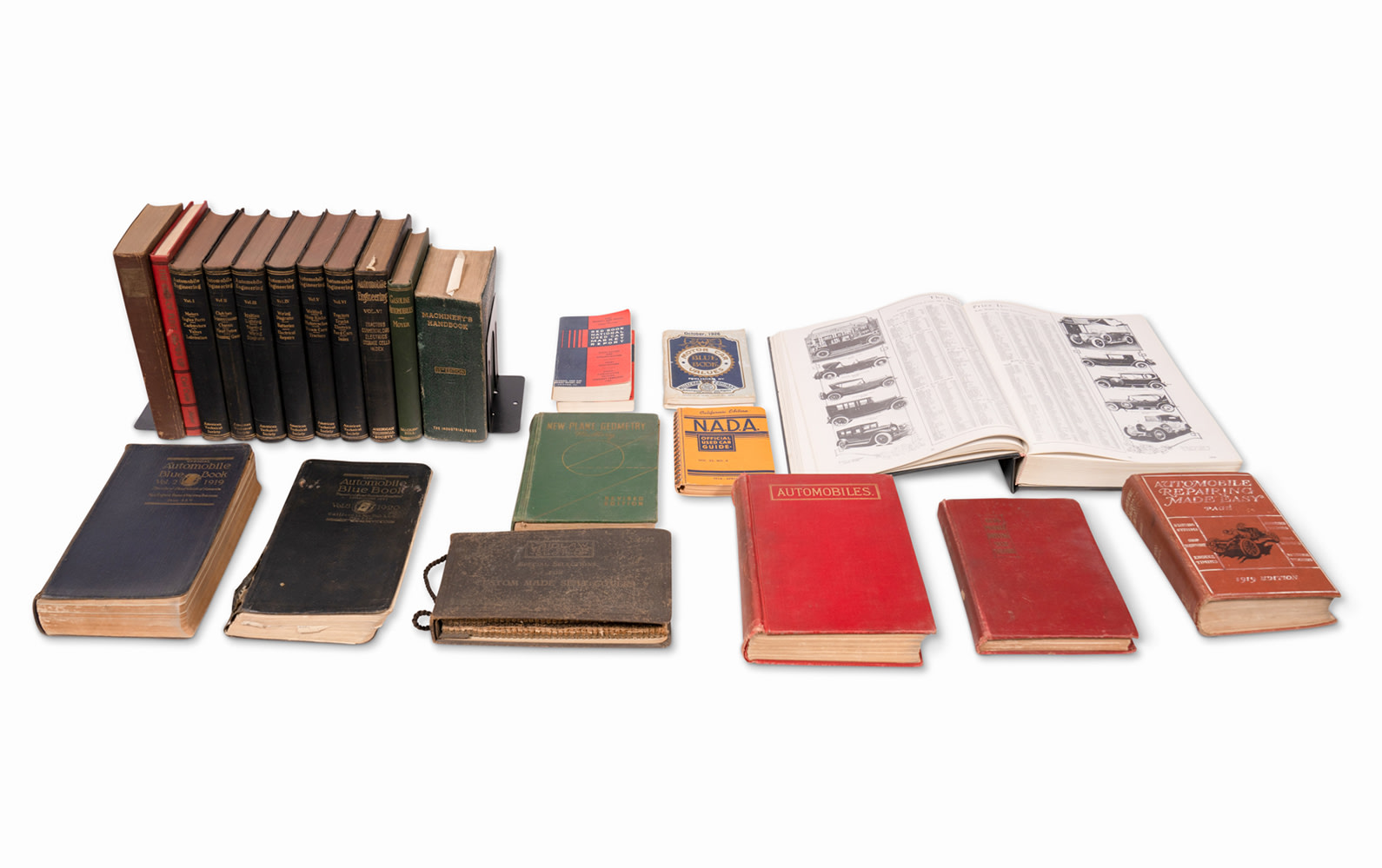 Assorted Automobile Engineering Books and Technical Literature