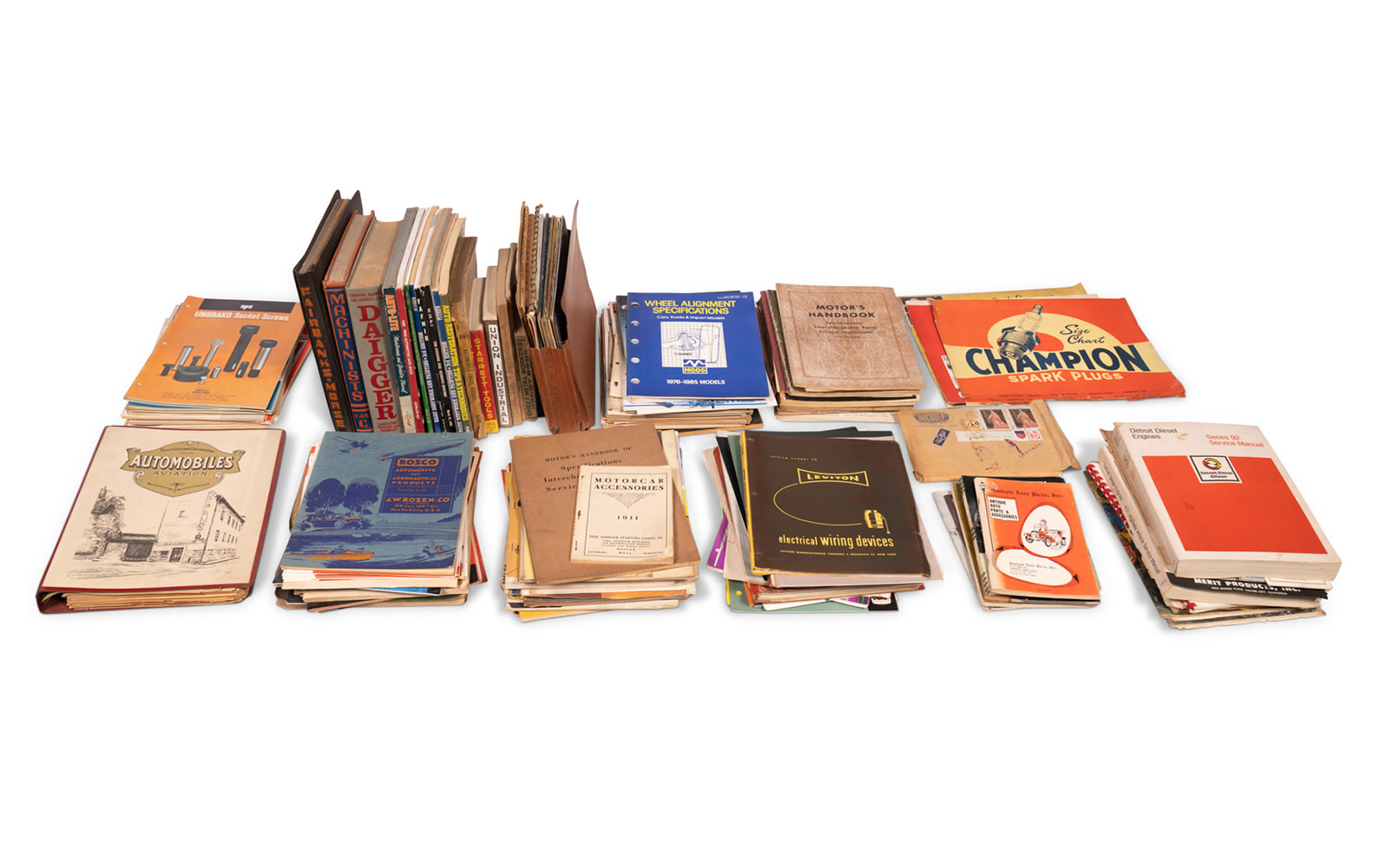 Assorted Parts and Machinery Manuals and Literature