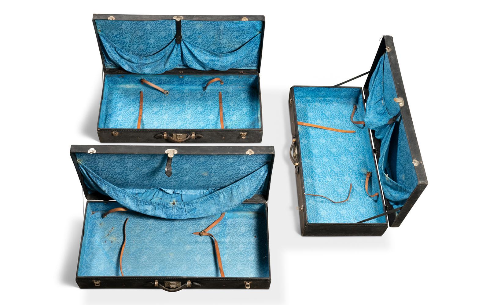 Three-Piece Long-Grain Motoring Luggage Set