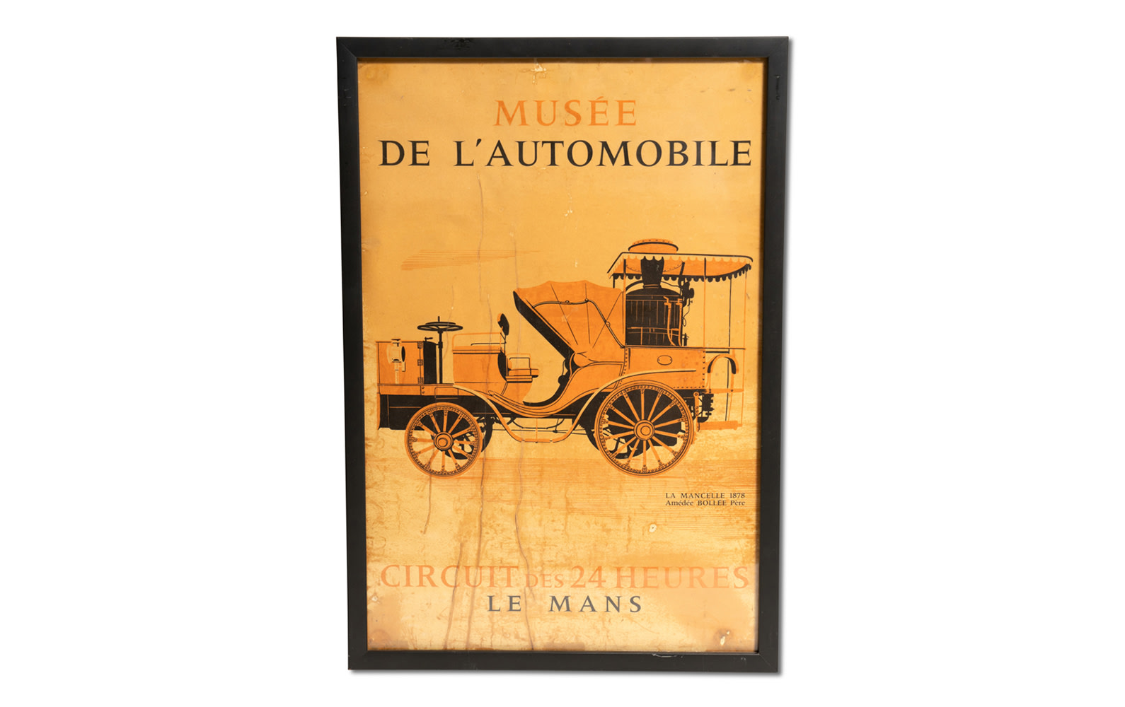 Musée de l'Automobile Circuit des 24 Heures Le Mans Poster, Framed