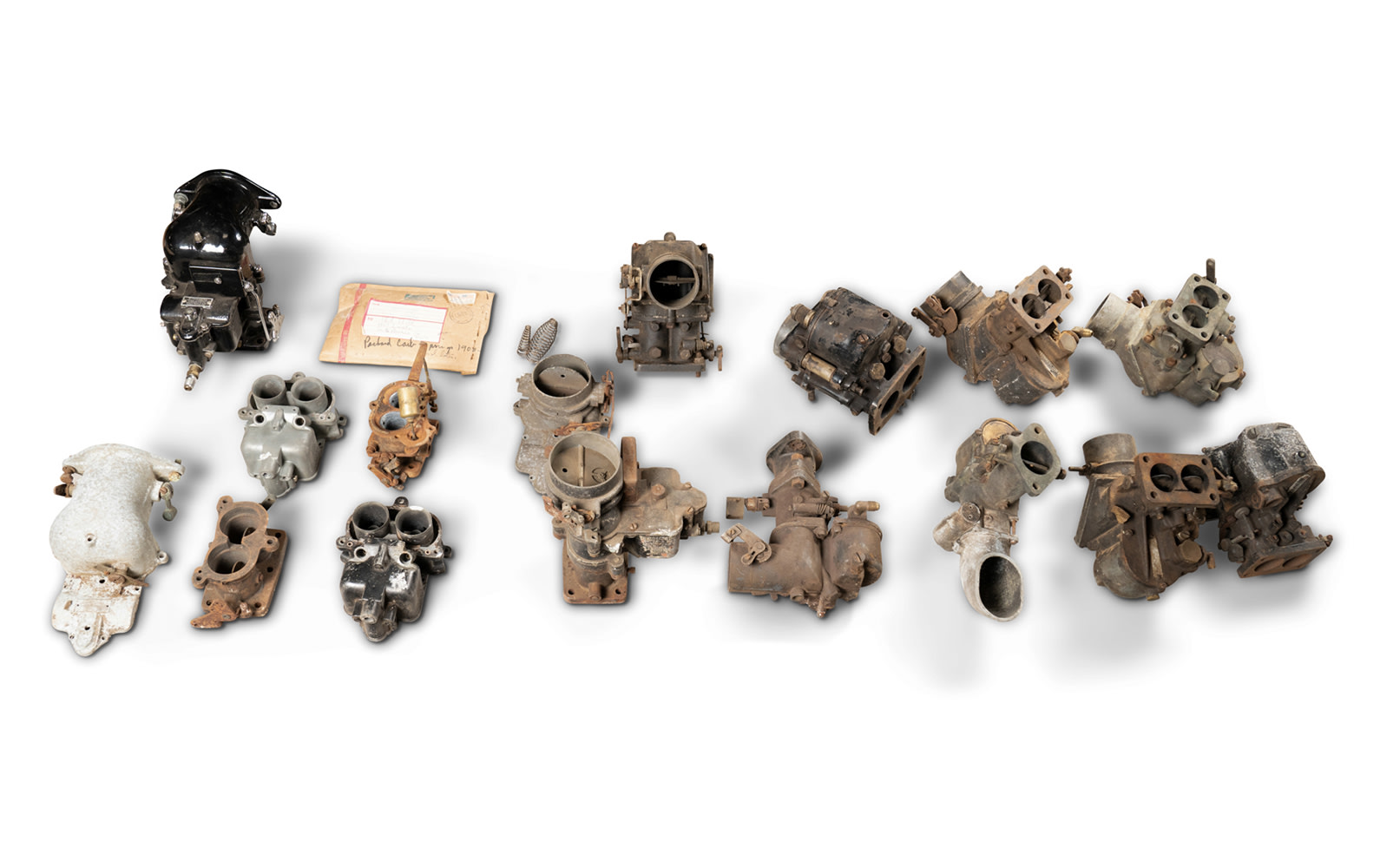 Prod/O21E - Phil Hill C 2021/C0095_Assorted Stromberg Carburetors/C0095_Stromberg_Carburetors_1_hxd40h