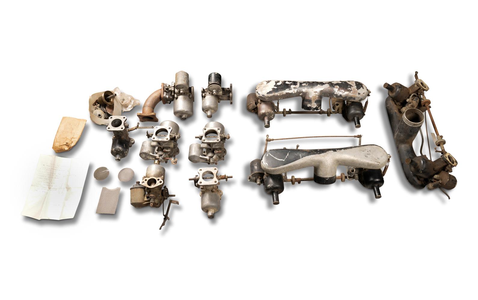 Assorted SU Carburetors and Manifolds