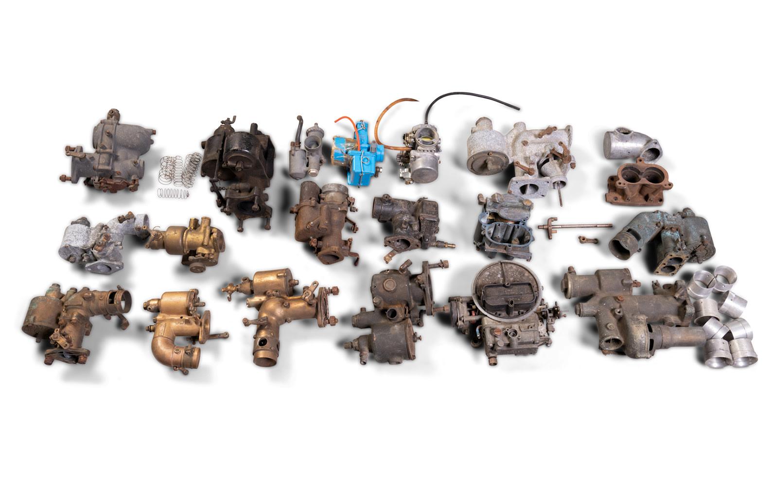 Assorted Carburetors and Parts