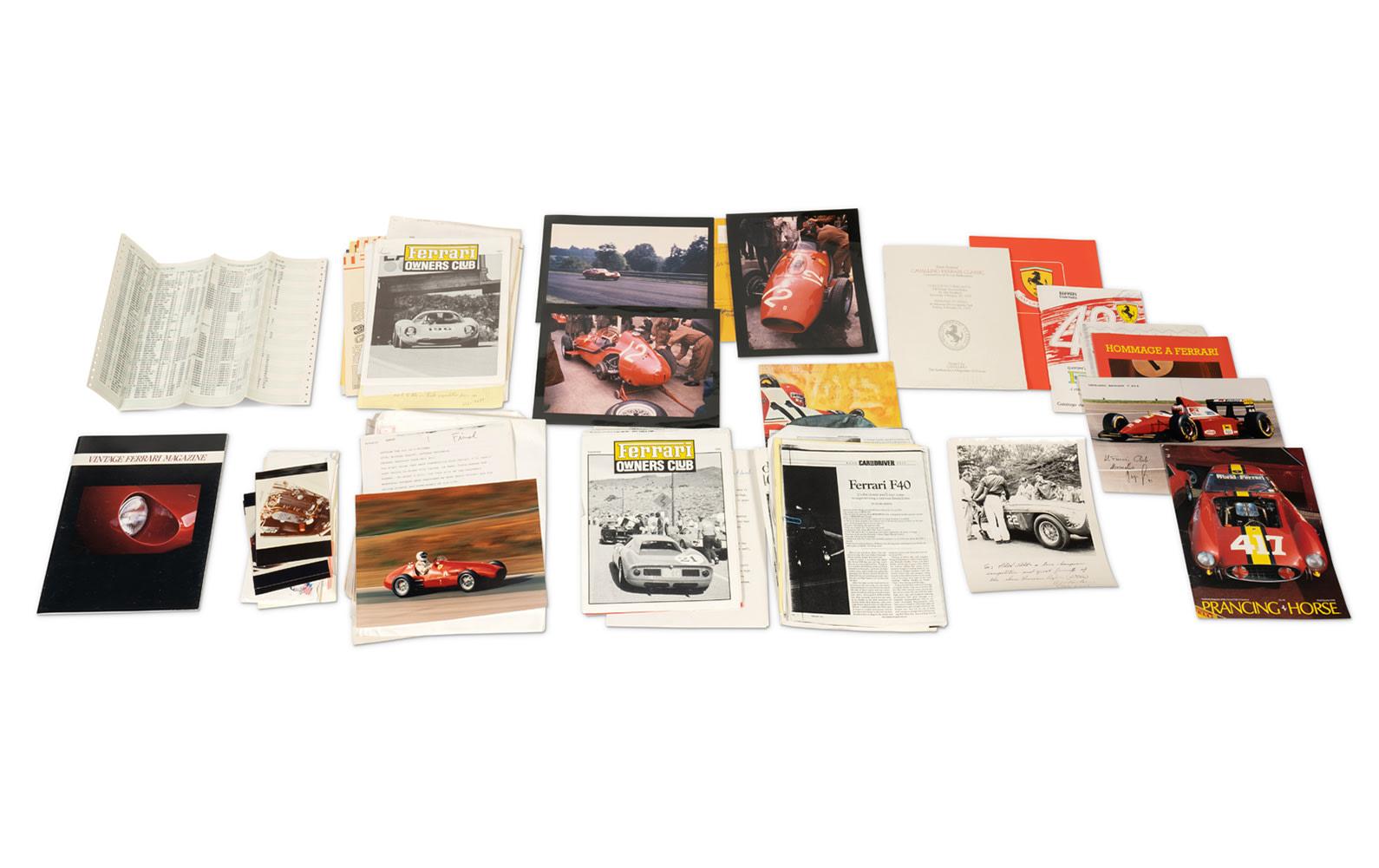 Prod/O21E - Phil Hill C 2021/C0191_Ferrari Paperwork and Files/C0191_Ferrari_Paperwork_Files_1_lzwvdy