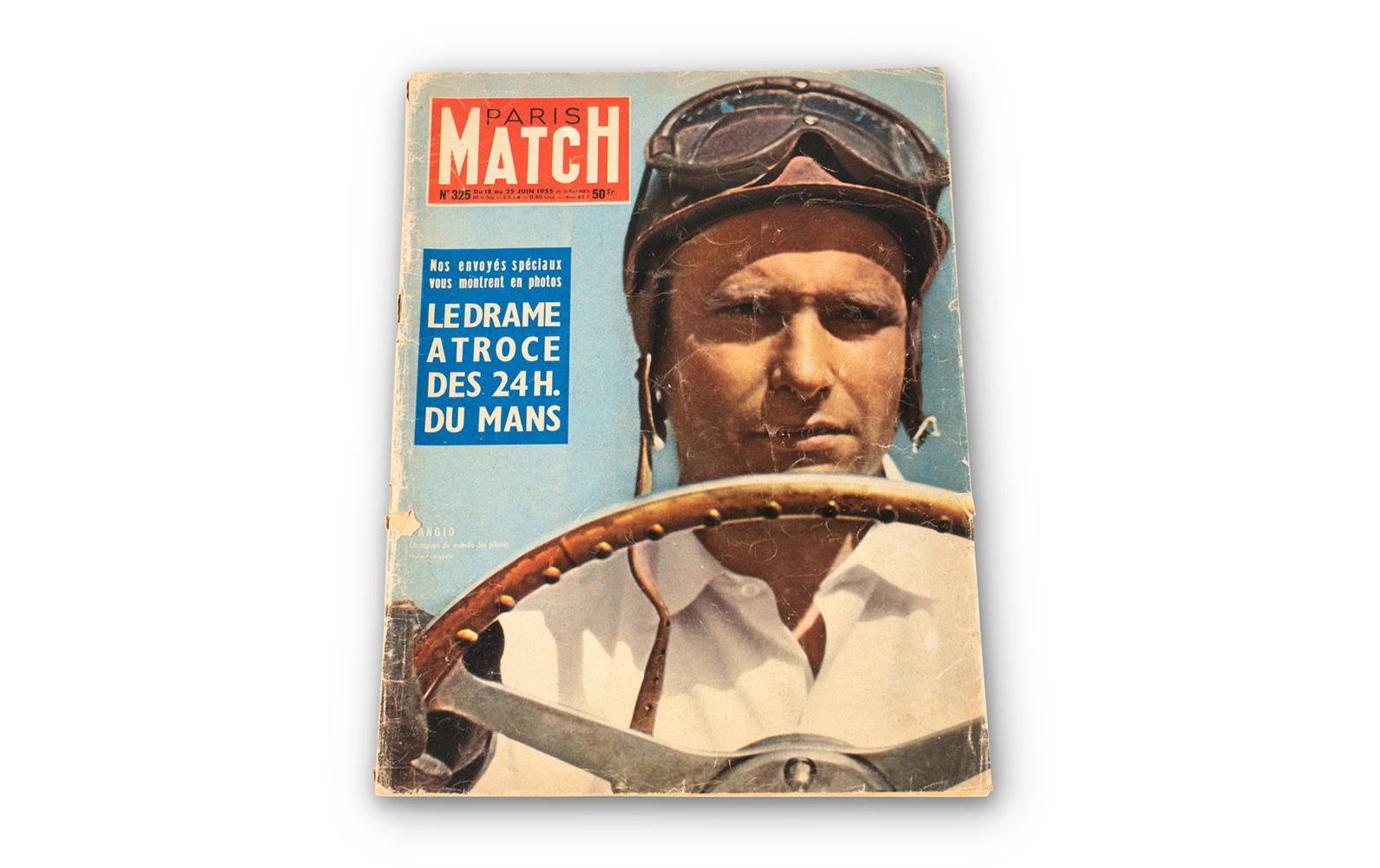 Prod/O21E - Phil Hill C 2021/C0193_1955 Paris Match Magazine/C0193_1955_Paris_Match_Magazine_1_ygkzrh