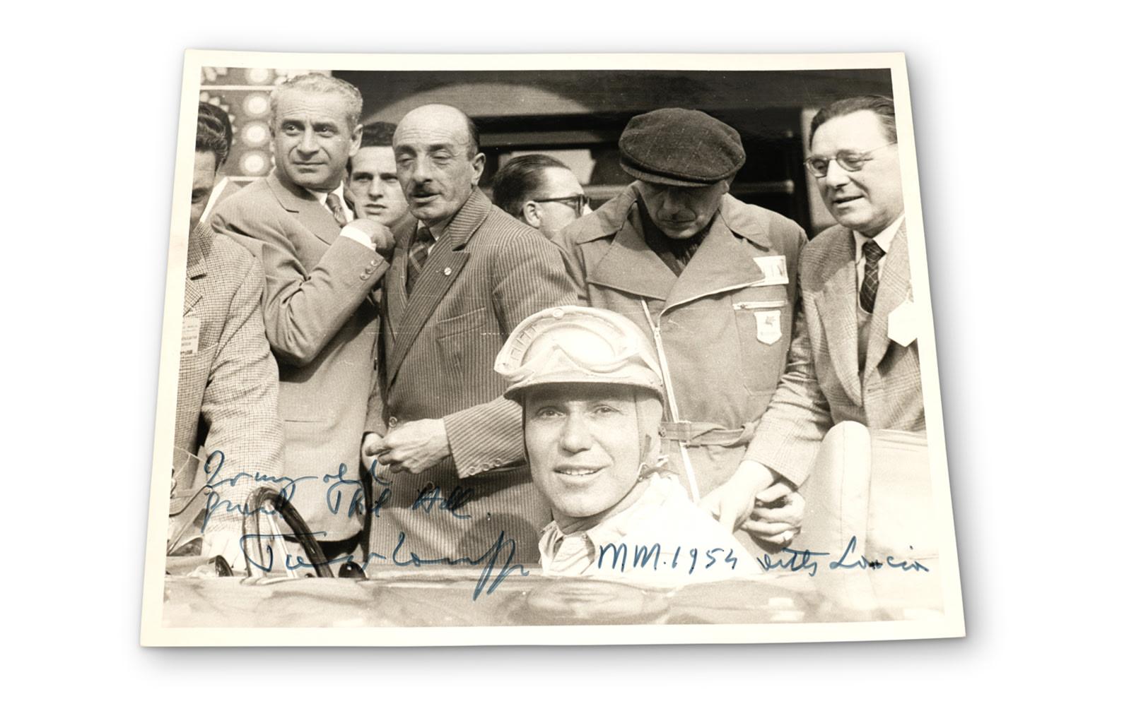 Prod/O21E - Phil Hill C 2021/C0194_1954 Mille Miglia Photograph of Piero Taruffi/C0194_1954_Mille_Miglia_Piero_Taruffi_1_lfzqfj