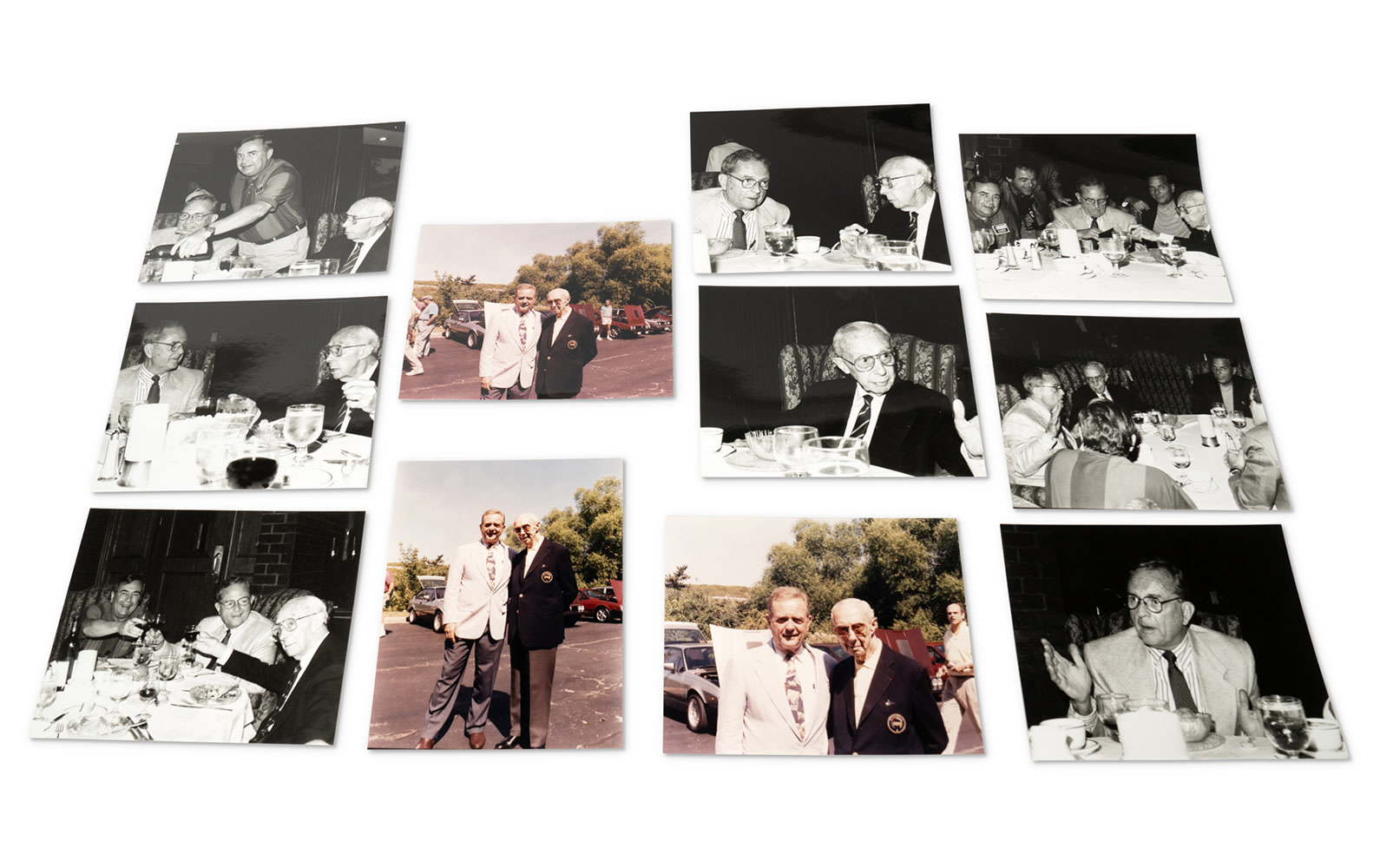 Photographs of Phil Hill and René Dreyfus