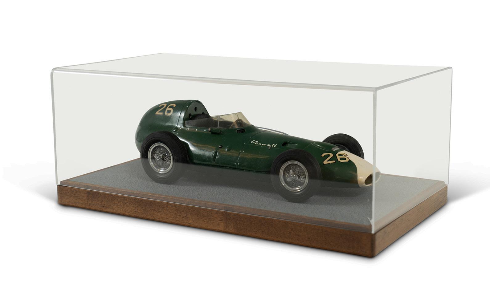 1958 Vanwall VW5 Grand Prix Model By Michele Conti