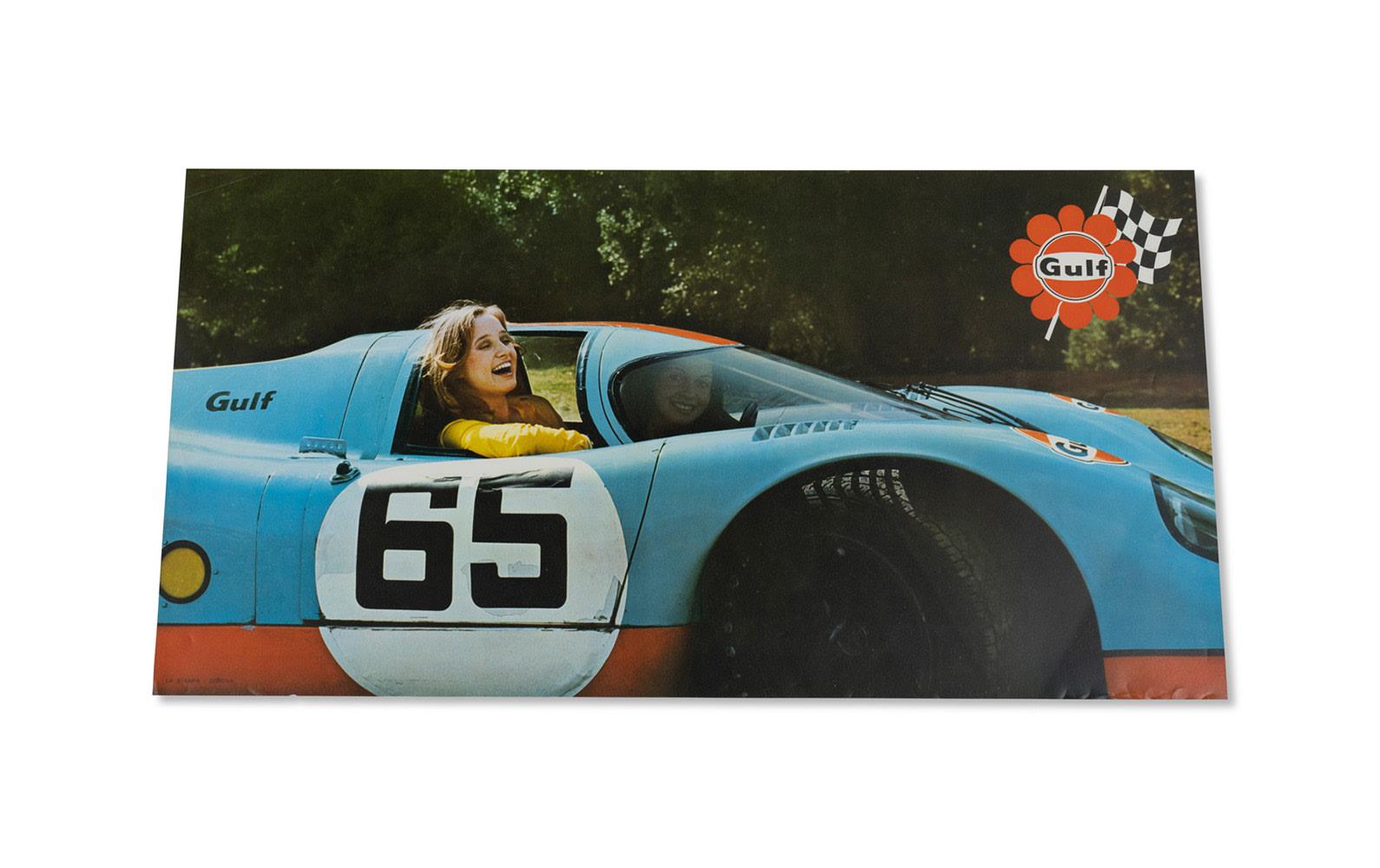 Gulf Porsche 917K Italian-Market Poster