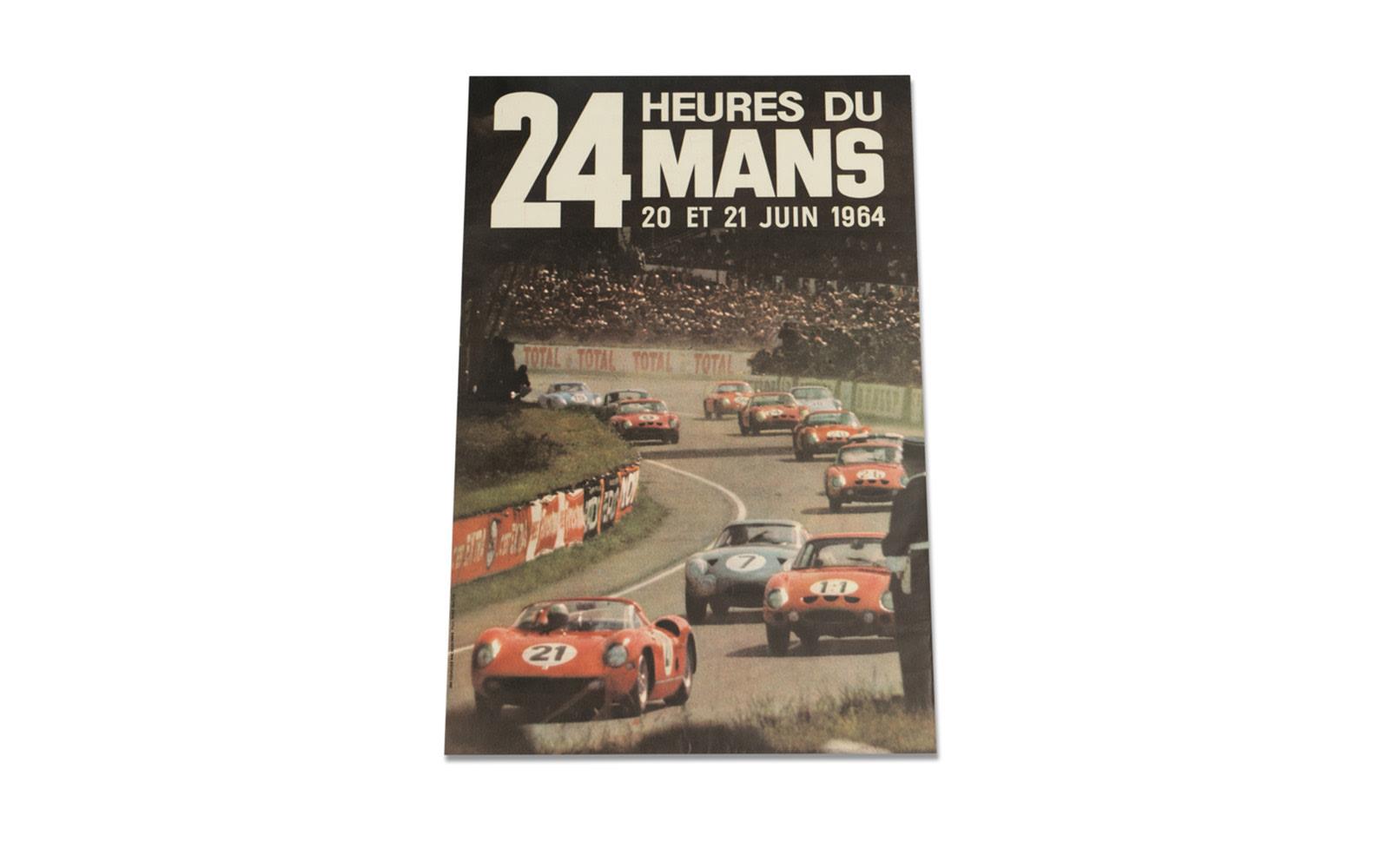 24 Heures du Mans Poster, 1964