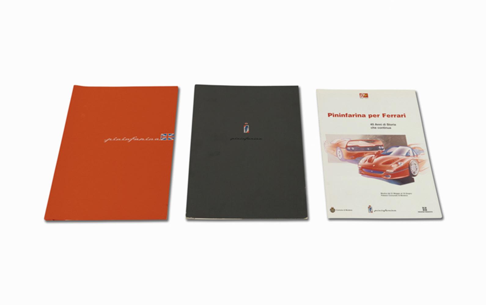 Pininfarina Press Kits