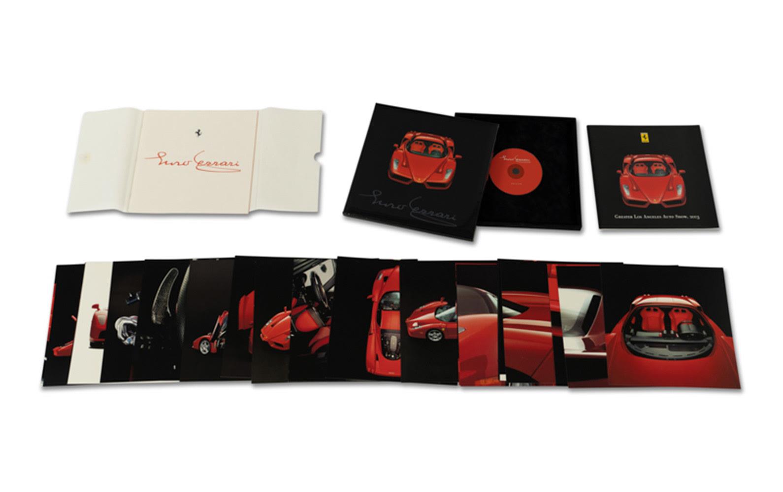Ferrari Enzo 2003 Los Angeles Auto Show Press Kit