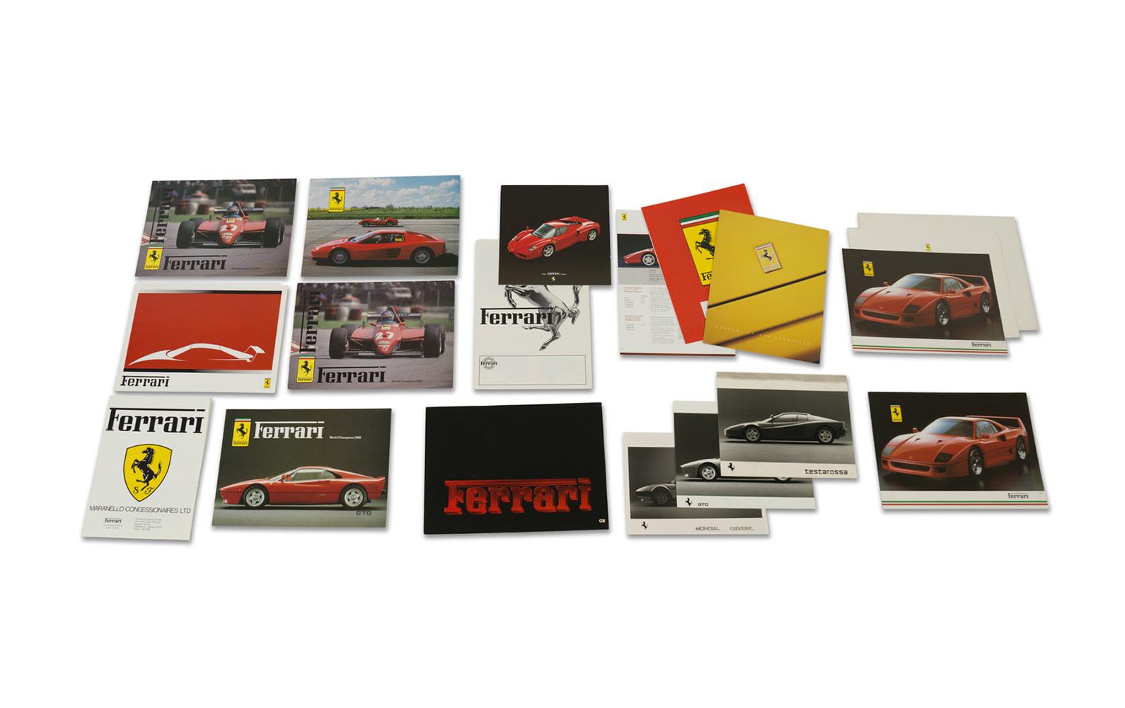 Ferrari Franchise and Independent Dealer Brochures, Including Ferrari of San Francisco