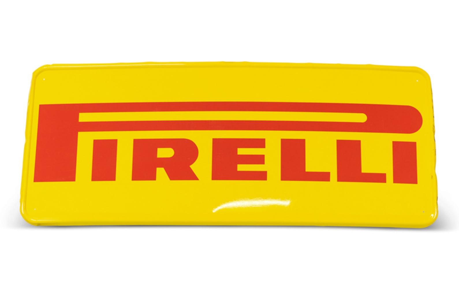 Pirelli Tire Sign