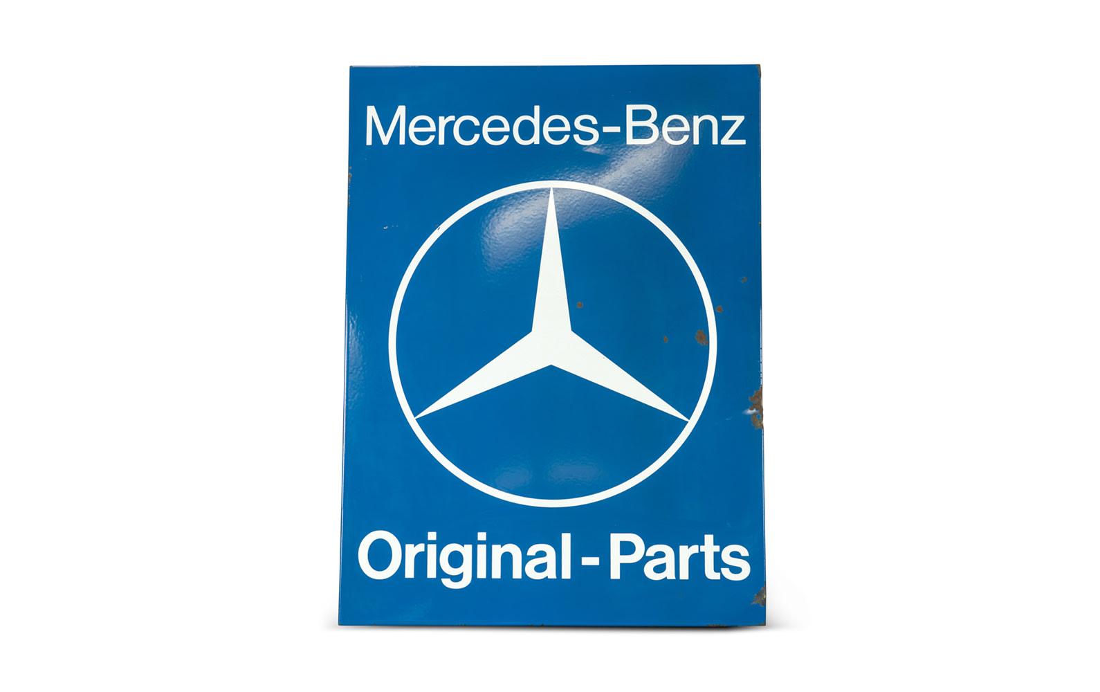 Mercedes-Benz Original-Parts Sign