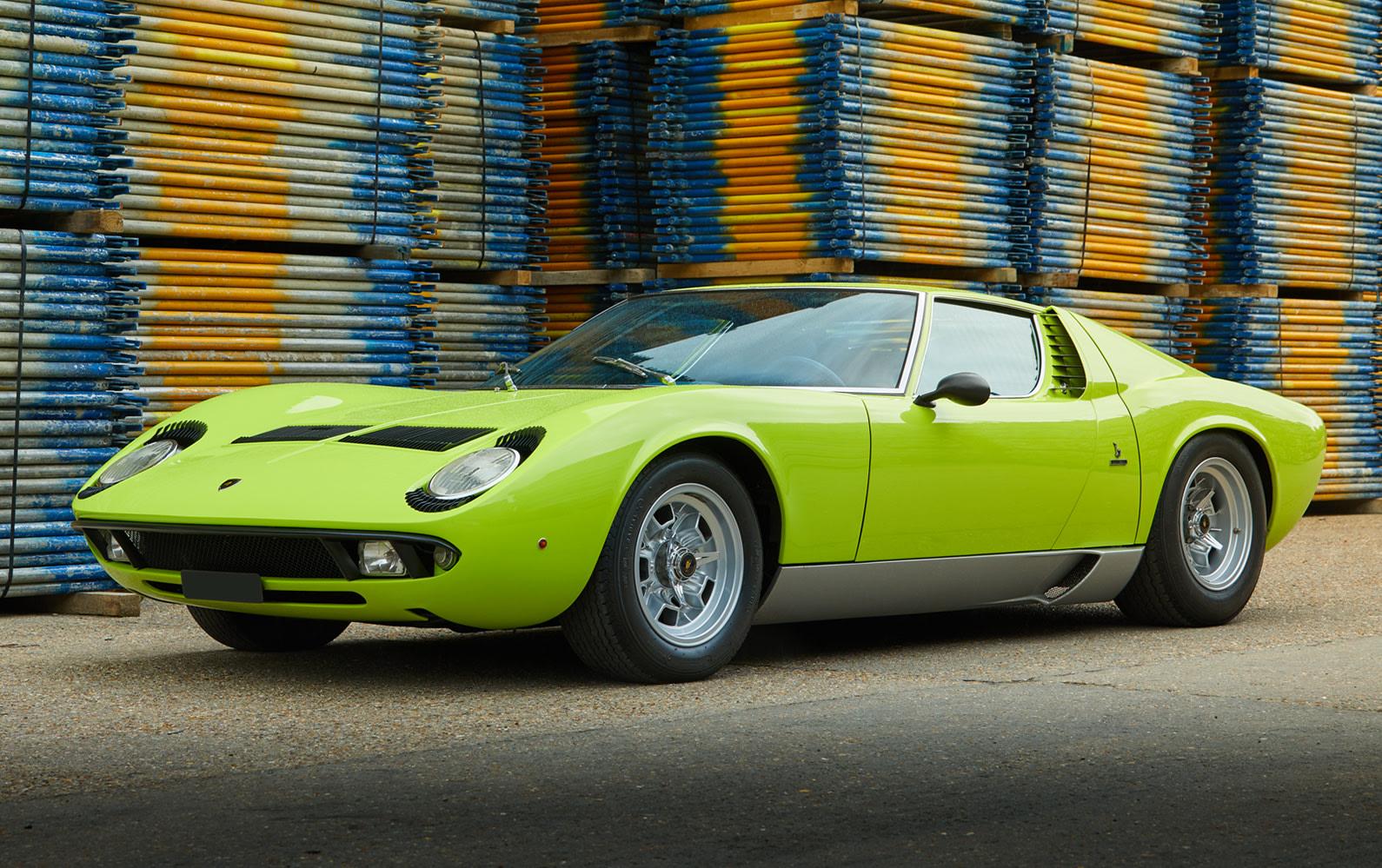 1968 Lamborghini Miura P400 S (1)