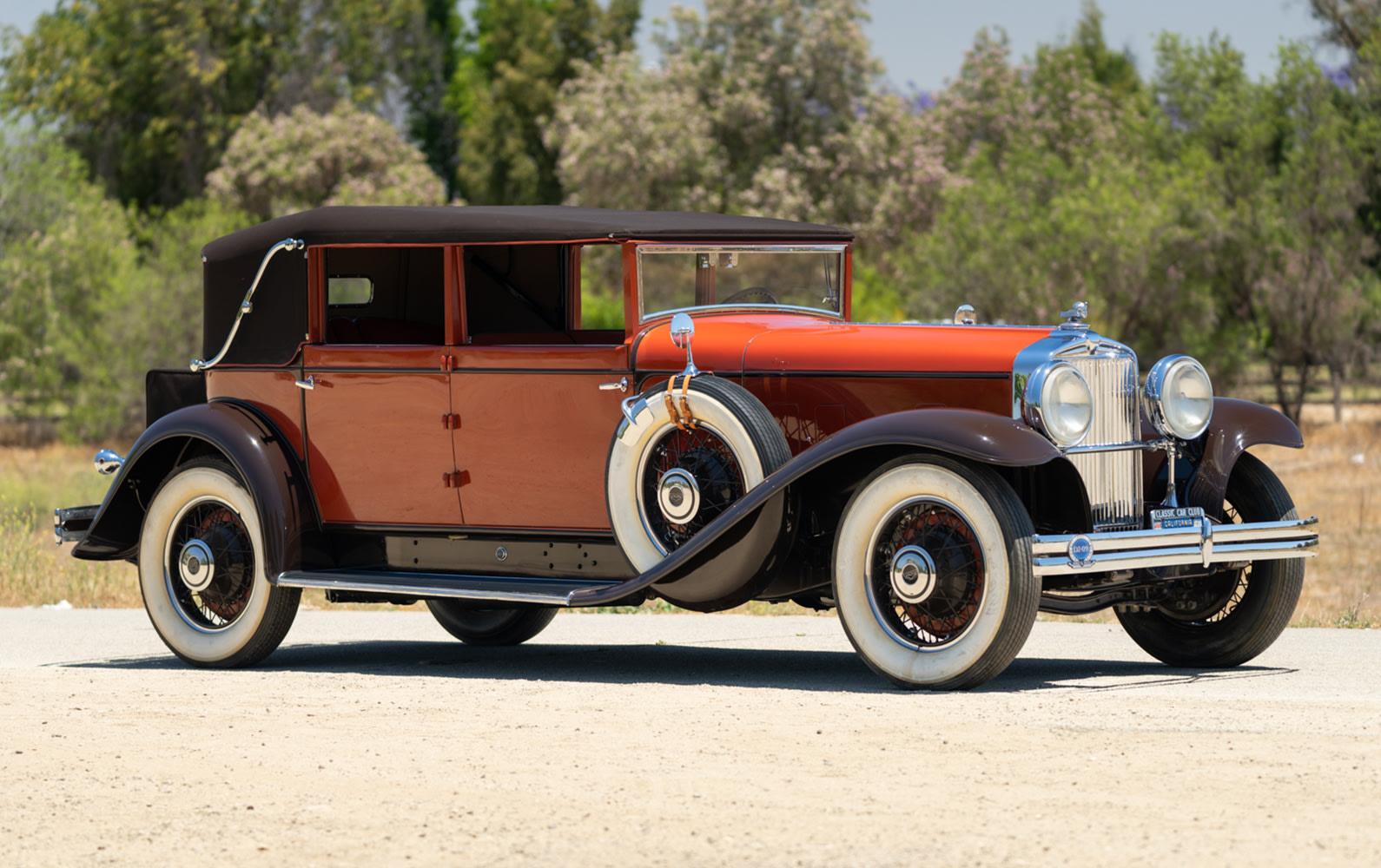 1931 Stutz Model MB Convertible Sedan