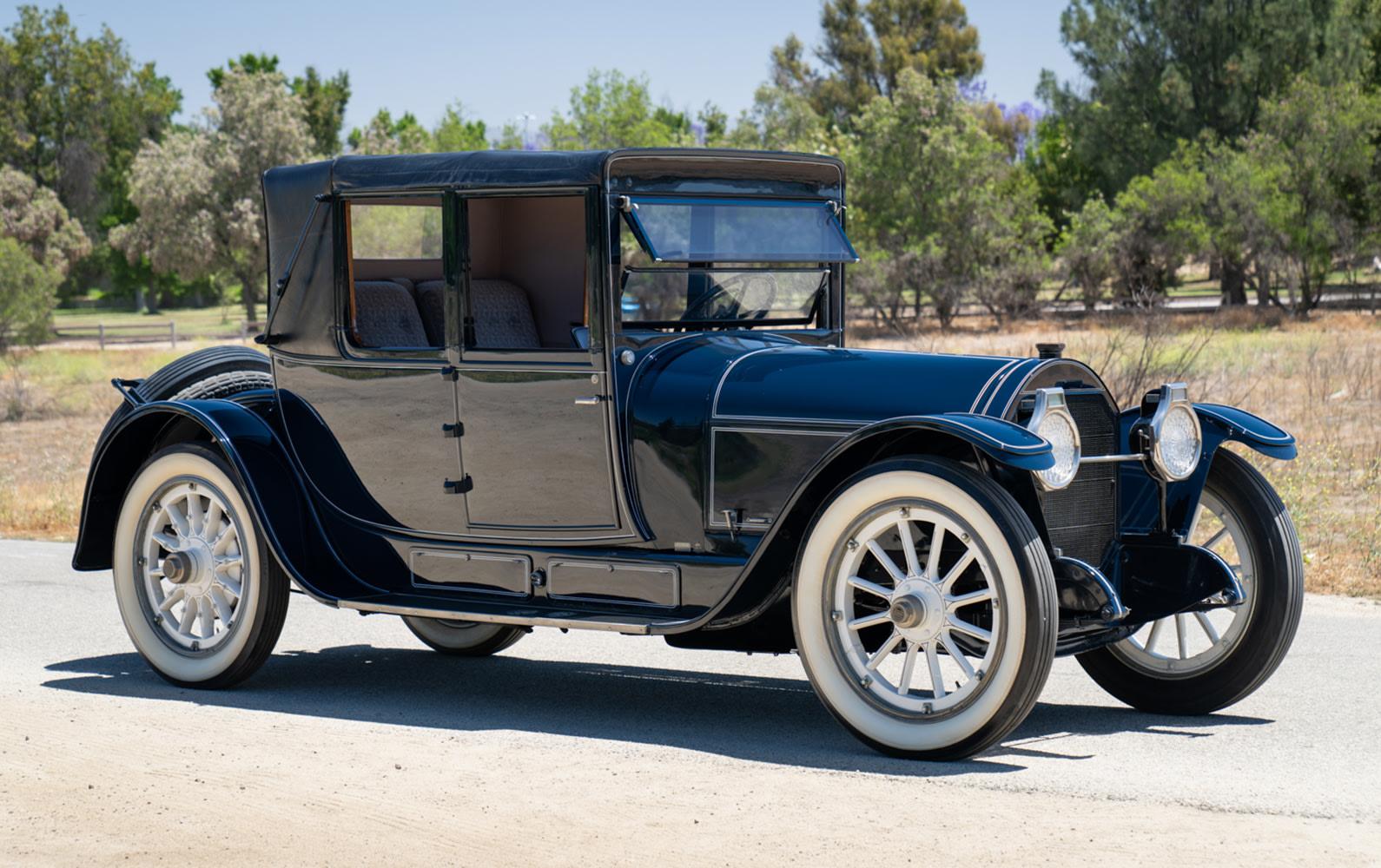 1917 Locomobile Model 48 Gunboat Cabriolet