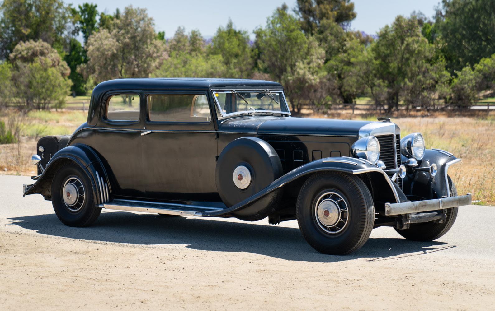 1932 Marmon Sixteen Victoria Coupe