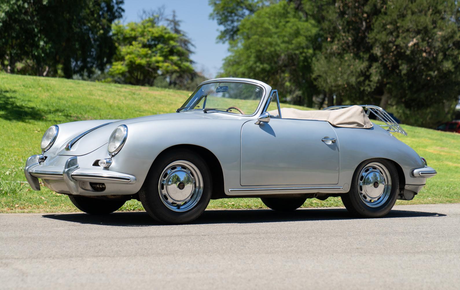 1964 Porsche 356 C Carrera 2 Cabriolet