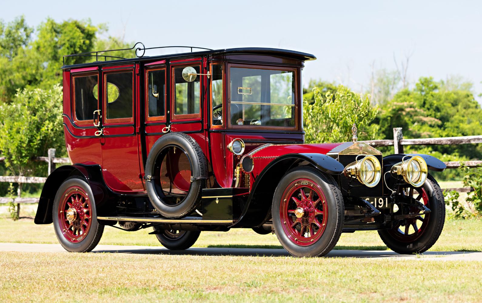 1910 Rolls-Royce 40/50 HP Silver Ghost Pullman Limousine