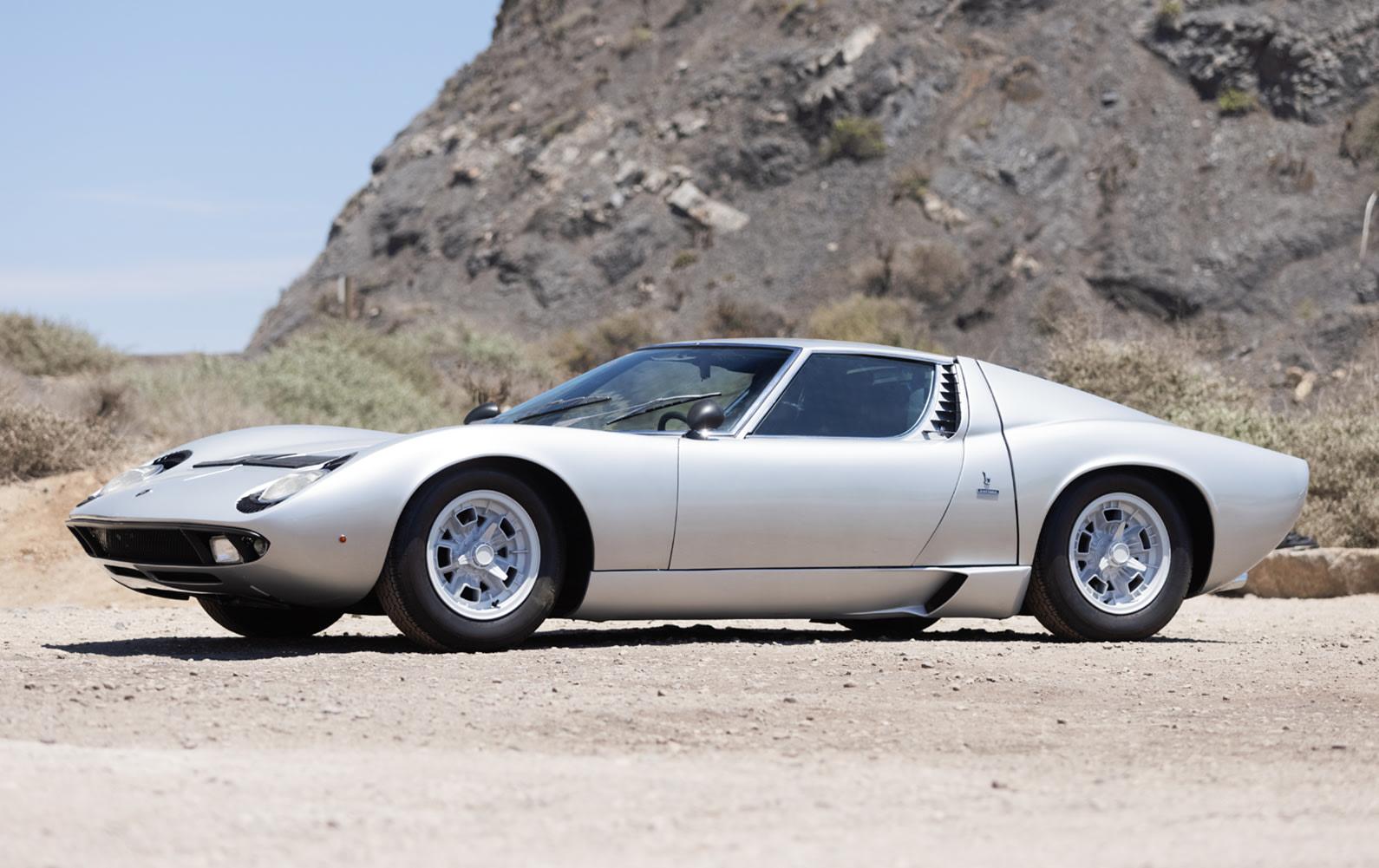1970 Lamborghini Miura P400 S (1)