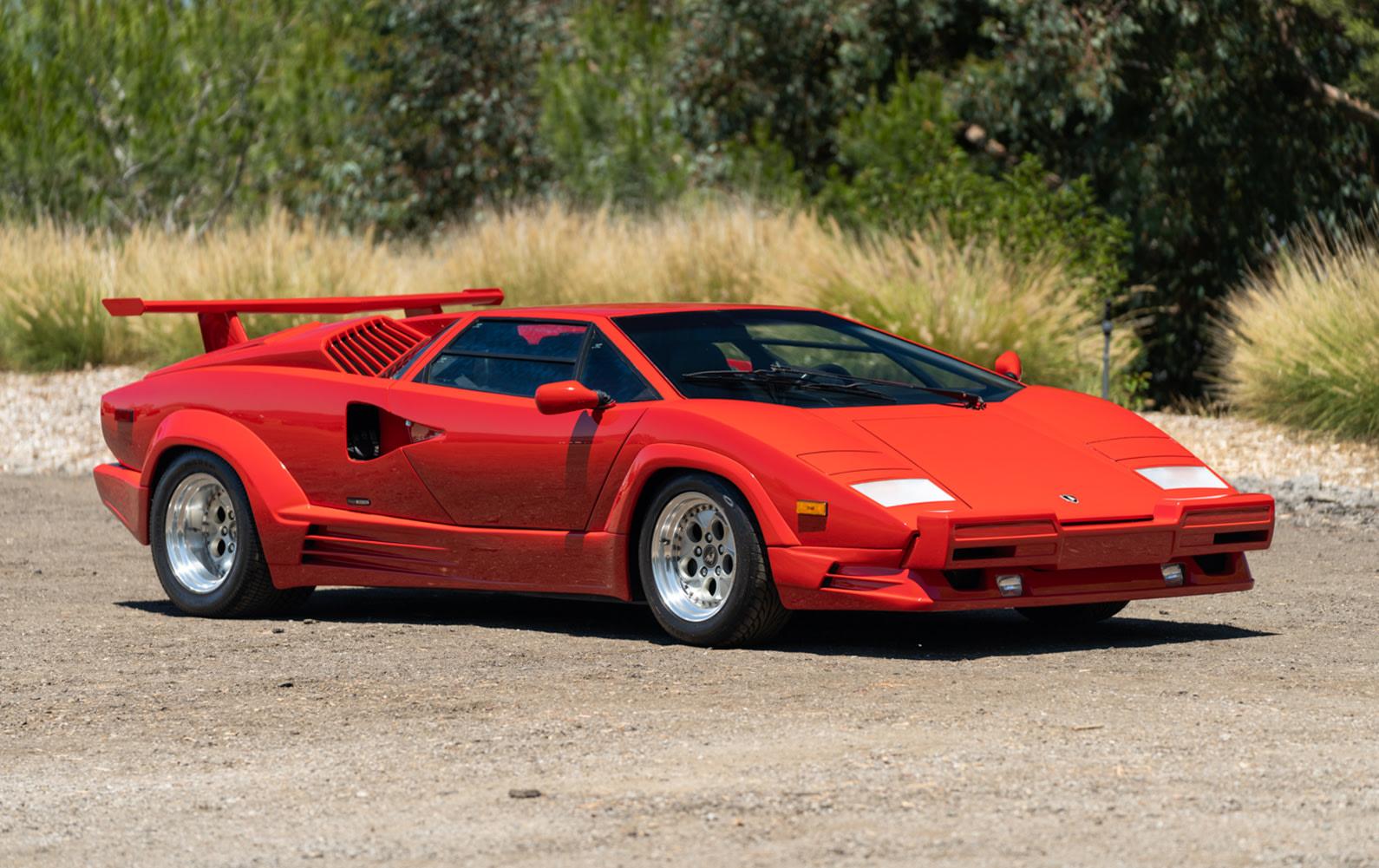 1989 Lamborghini Countach 25th Anniversary Edition (1)
