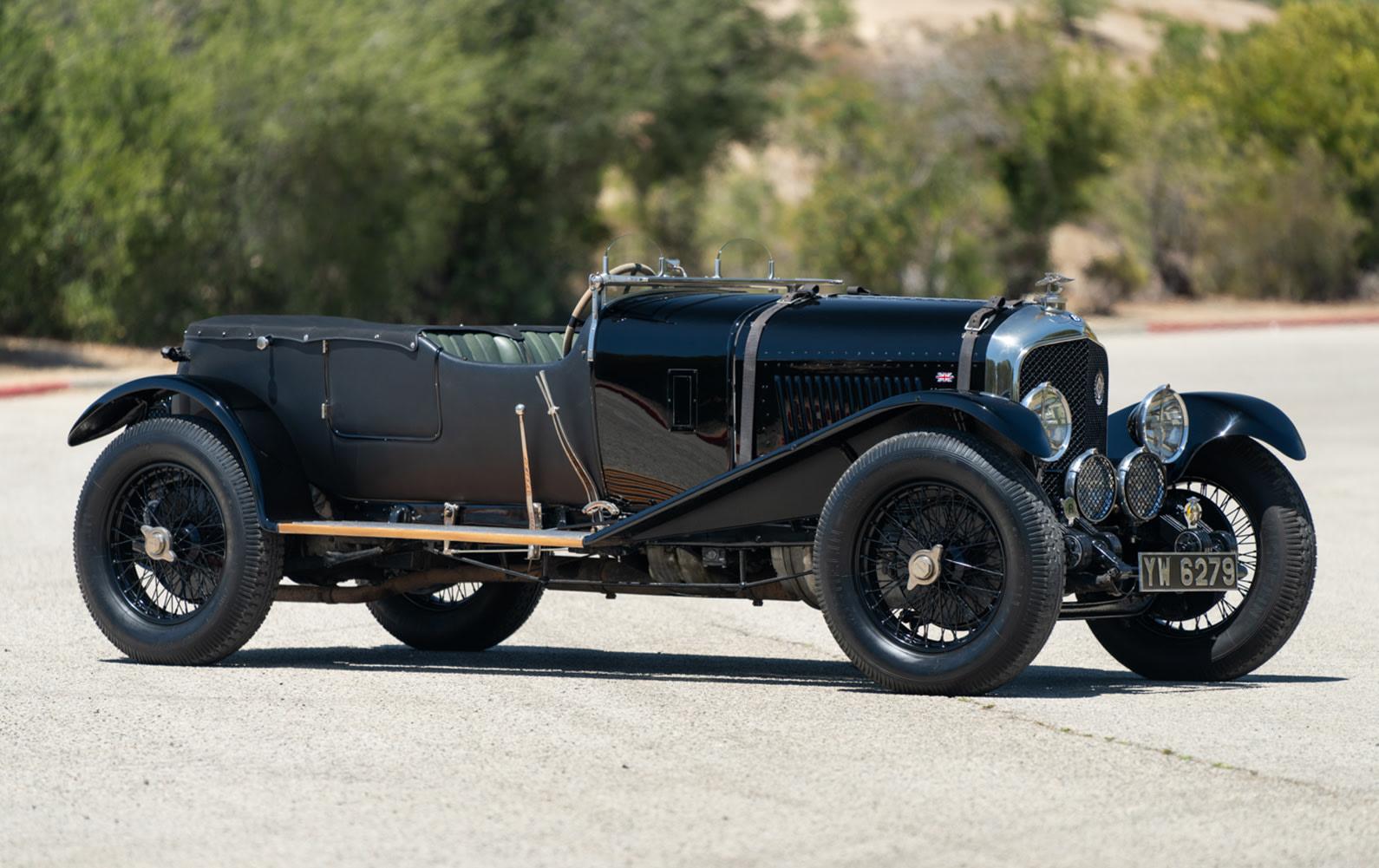 1928 Bentley 4 1/2 Litre Sports Tourer (1)