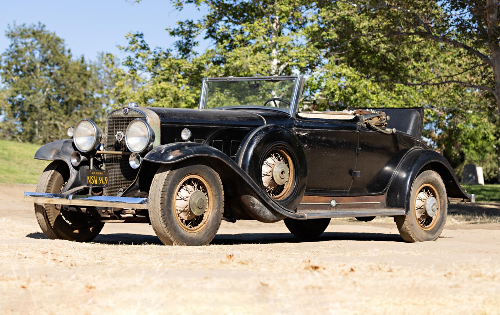 1931 Cadillac V-12 370-A Convertible Coupe