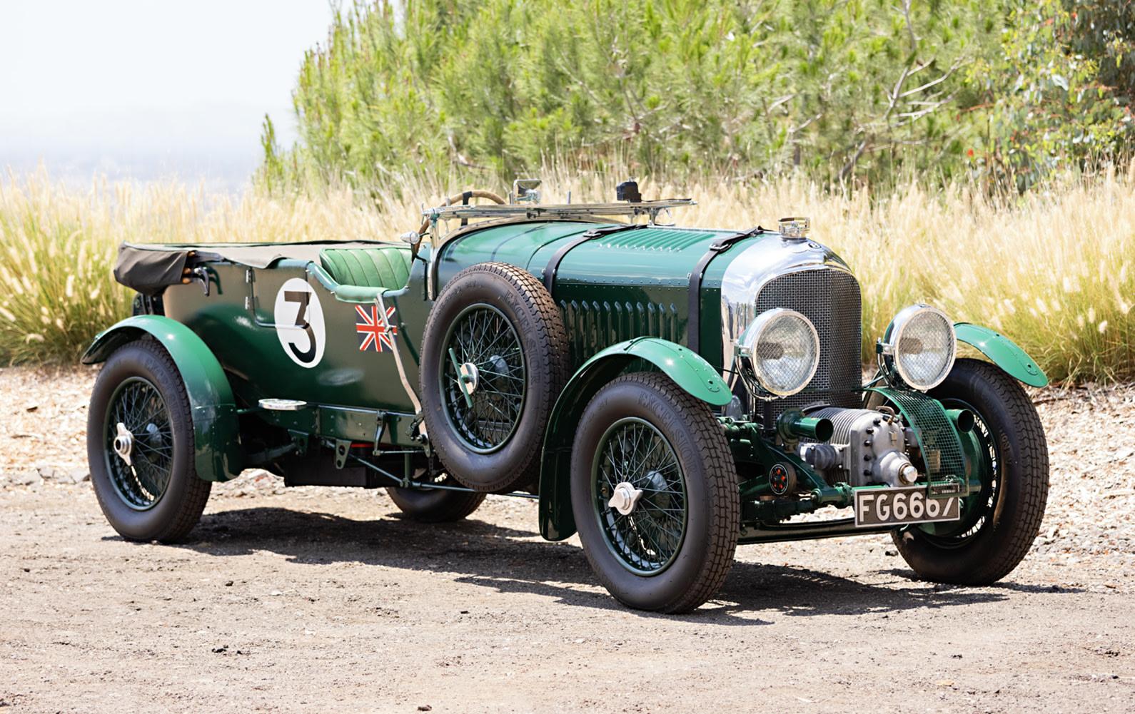 1931 Bentley 4 1/2 Litre Supercharged 'Blower' Sports Tourer