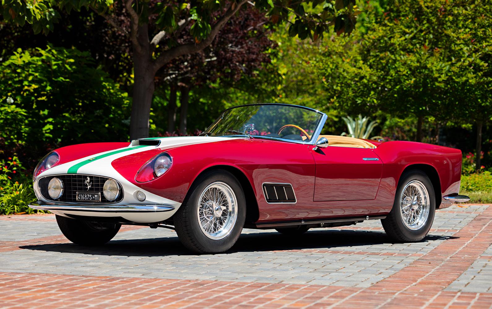 1959 Ferrari 250 GT LWB California Spider Competizione (1)