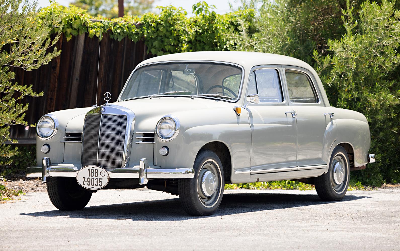 1958 Mercedes-Benz 180 Sedan