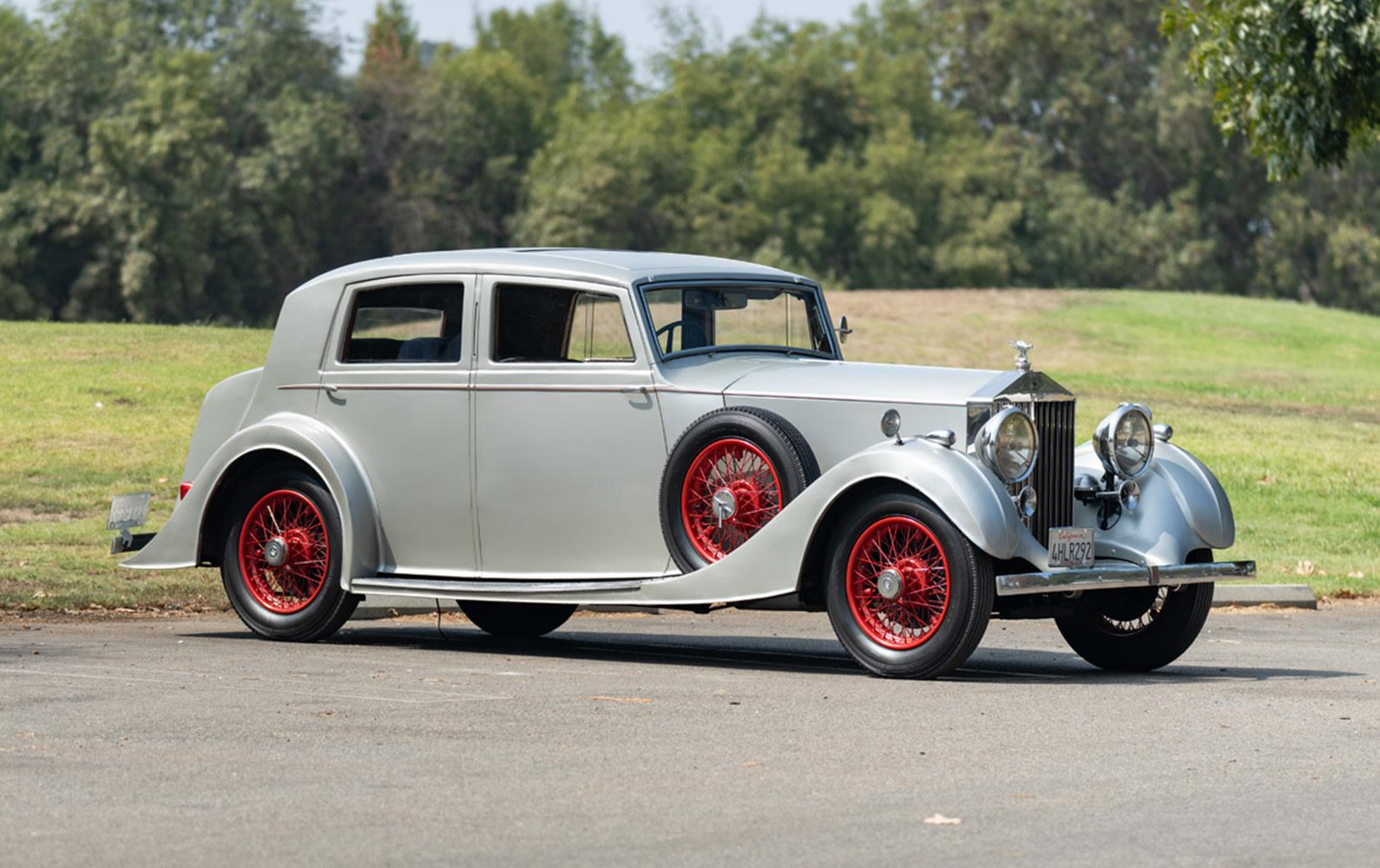 1937 Rolls-Royce 25/30 Razor-Edge Saloon