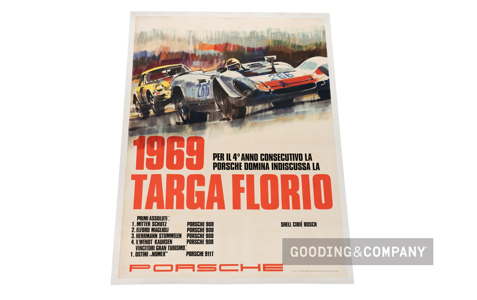 1969 Targa Florio Poster