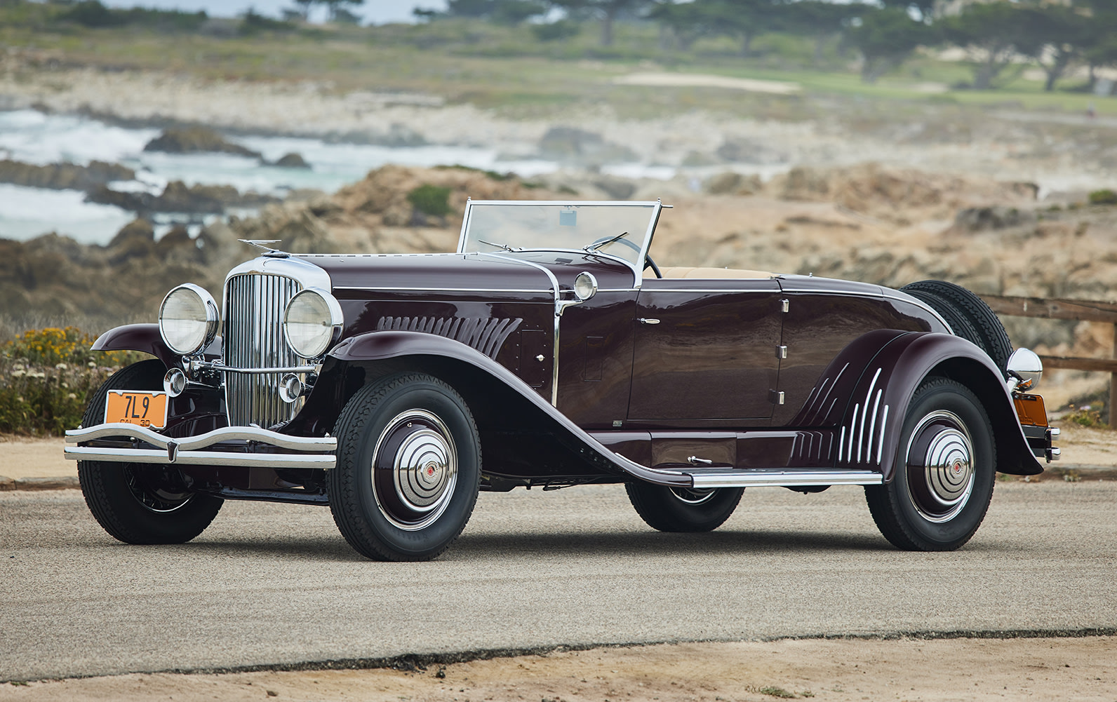 1930 Duesenberg Model J Disappearing-Top Convertible Coupe (1)