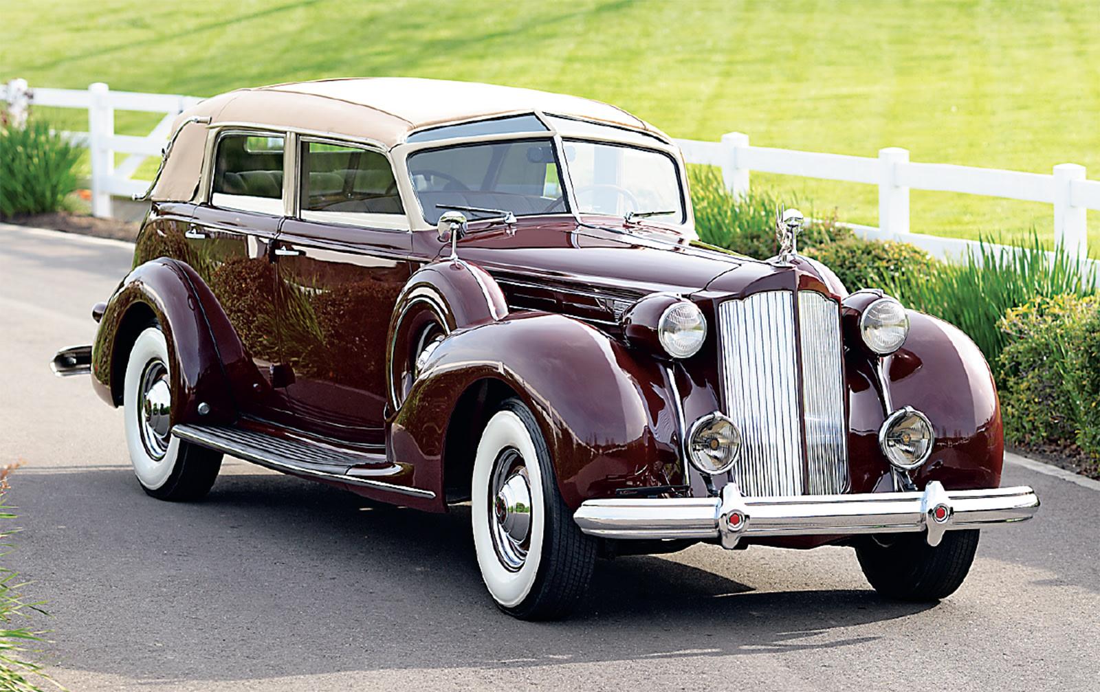 1938 Packard V-12 Brunn Touring Cabriolet