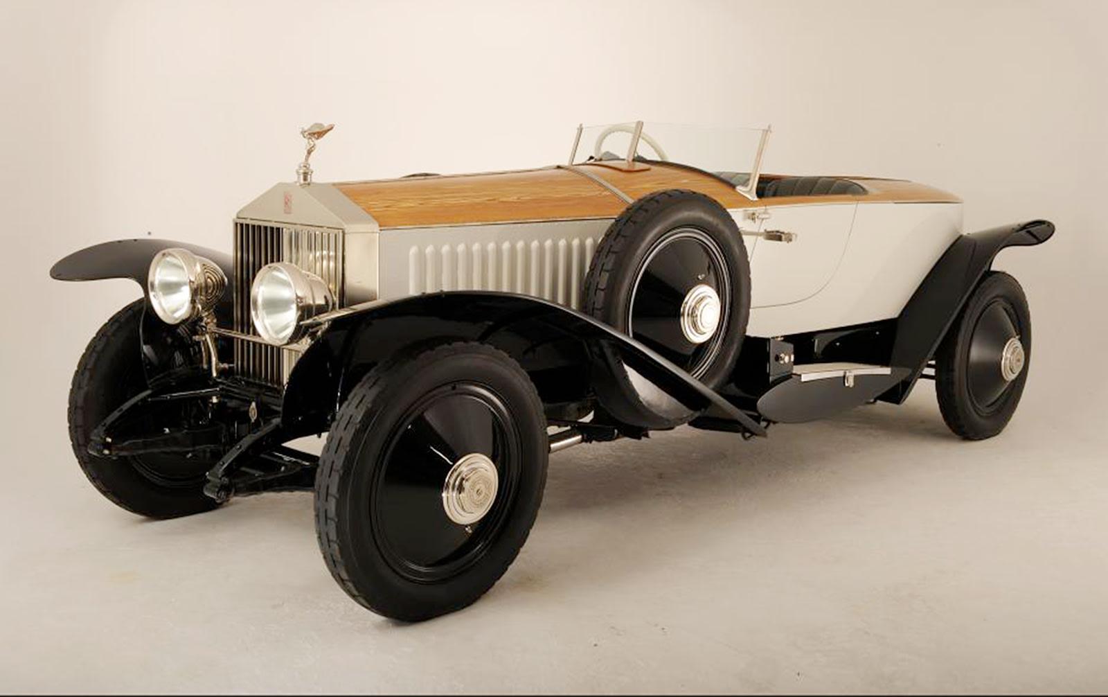 1925 Rolls-Royce Phantom I Barker Boattail