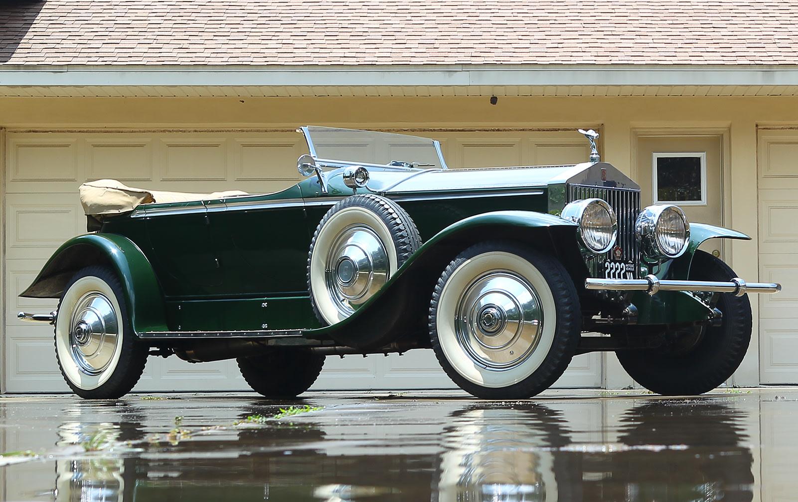 1928 Rolls-Royce Phantom I Derby Speedster