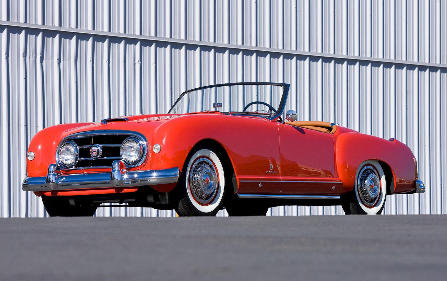 1953 Nash-Healey Roadster-5