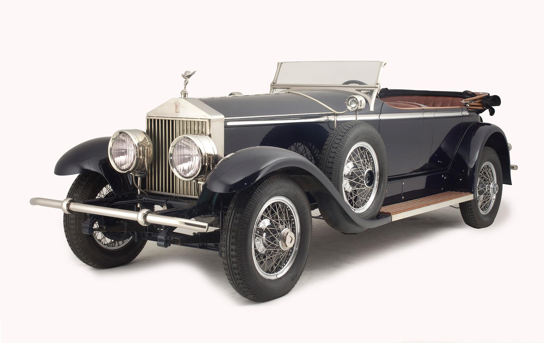 1929 Rolls-Royce Phantom I Ascot Tourer-2