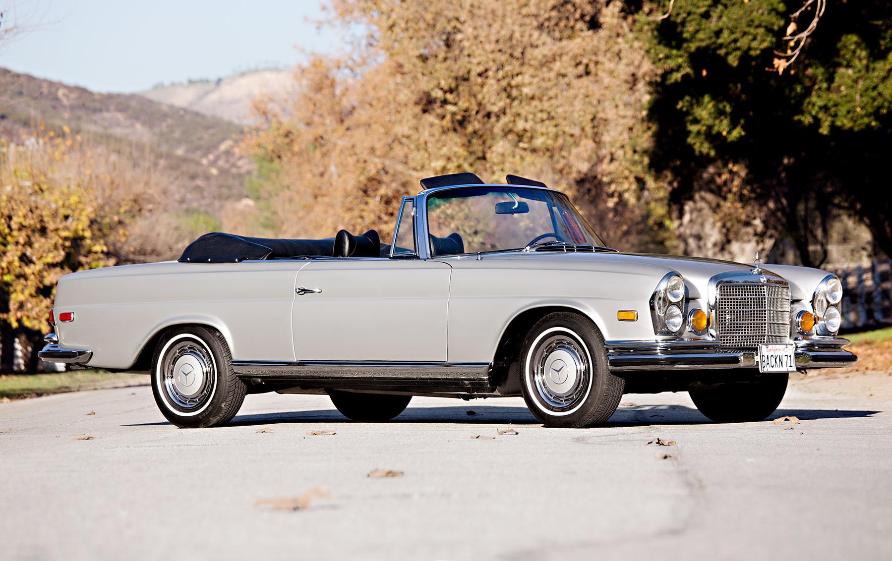 1971 Mercedes-Benz 280 SE 3.5 Cabriolet(2)