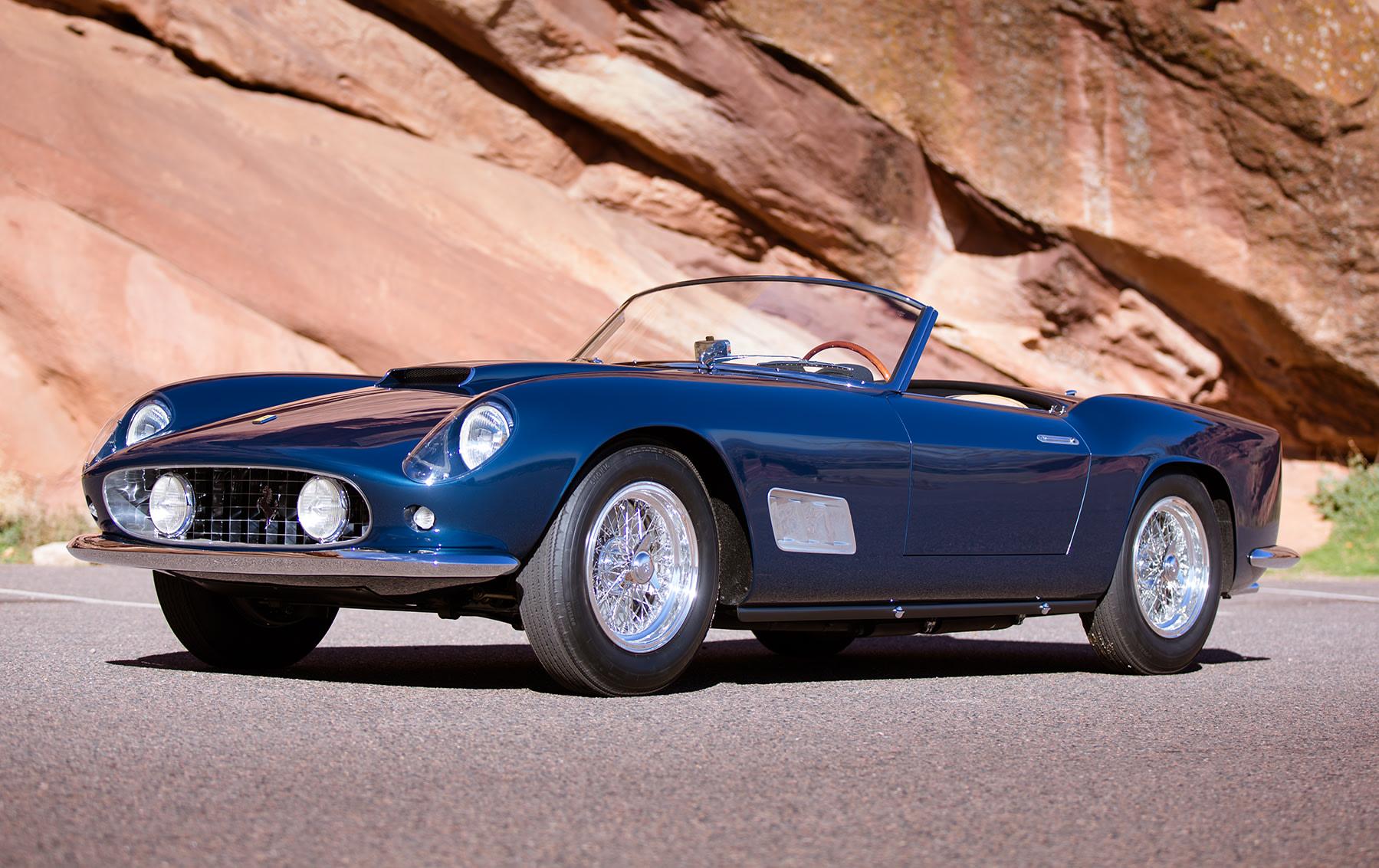 1958 Ferrari 250 GT LWB California Spider(2)