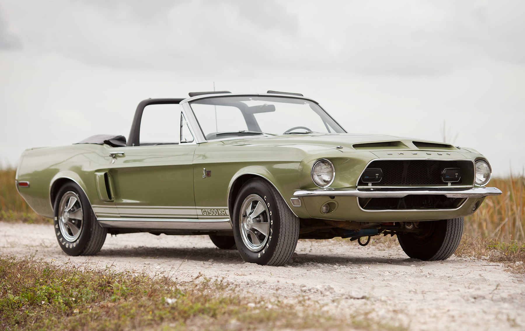 1968 Shelby GT500KR Convertible-2