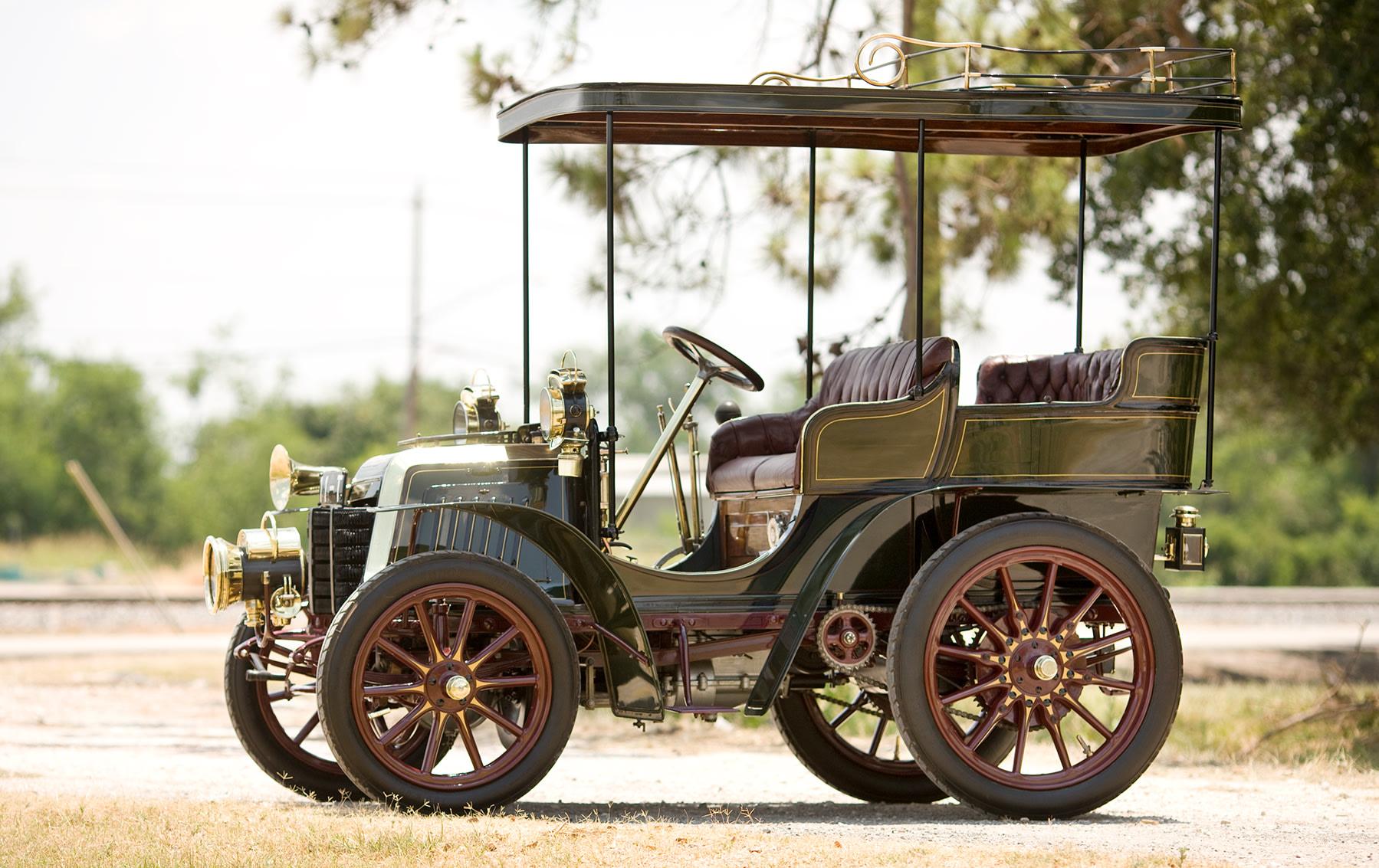 1901 Panhard et Levassor 7CV Rear-Entrance Tonneau