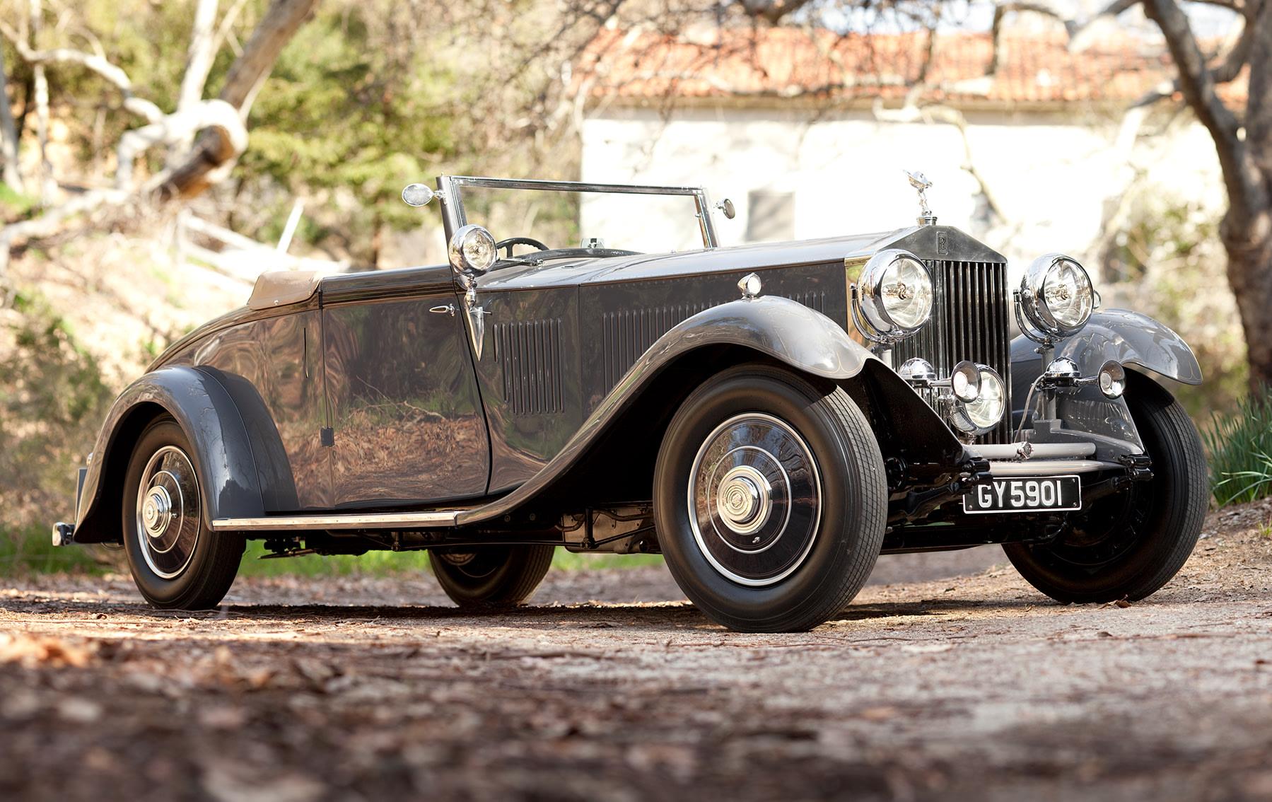 1932 Rolls-Royce Phantom II Continental Drop Head Coupe